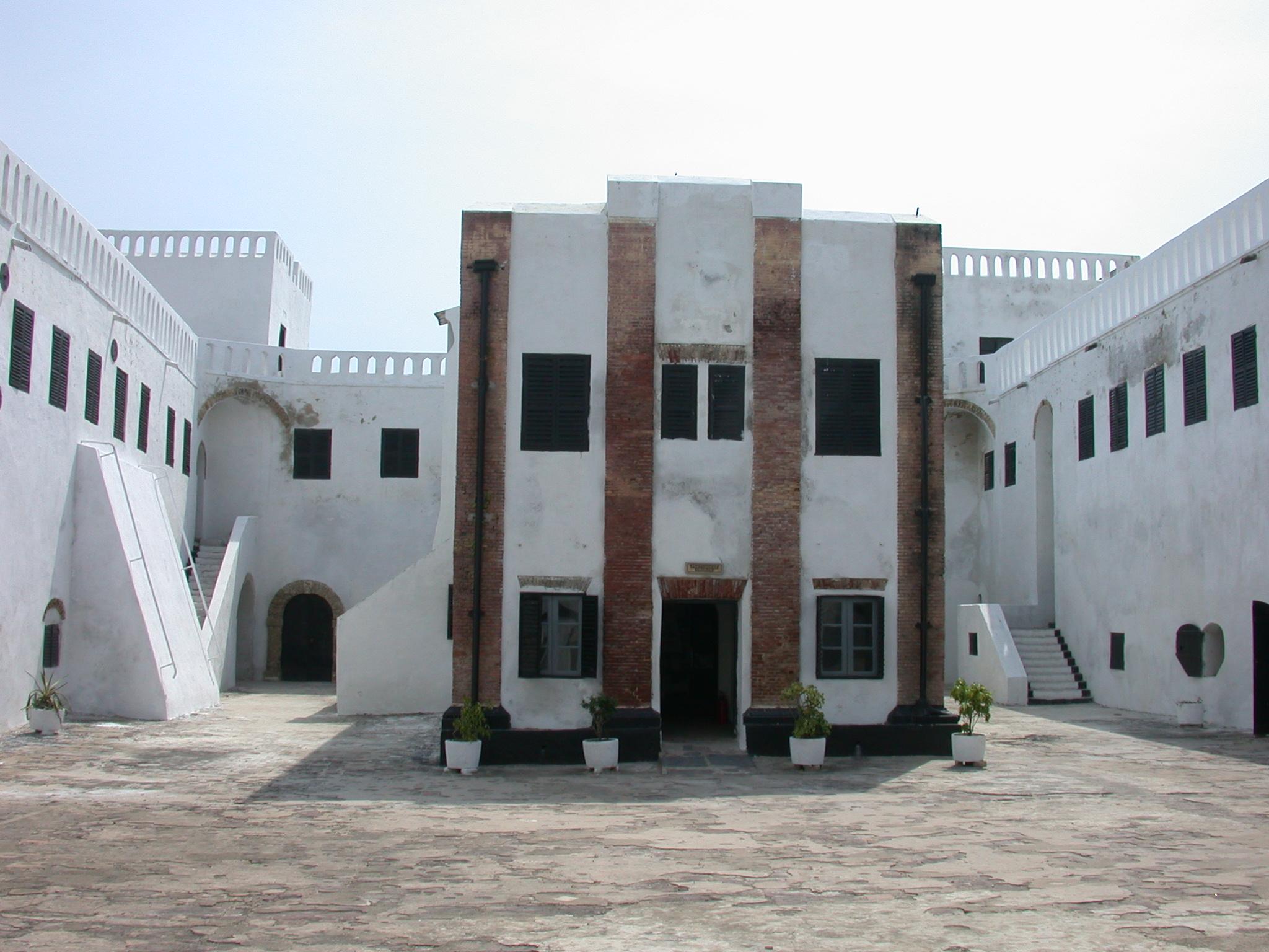 Portuguese Chapel in Courtyard, Elmina Slave Fort, Elmina, Ghana