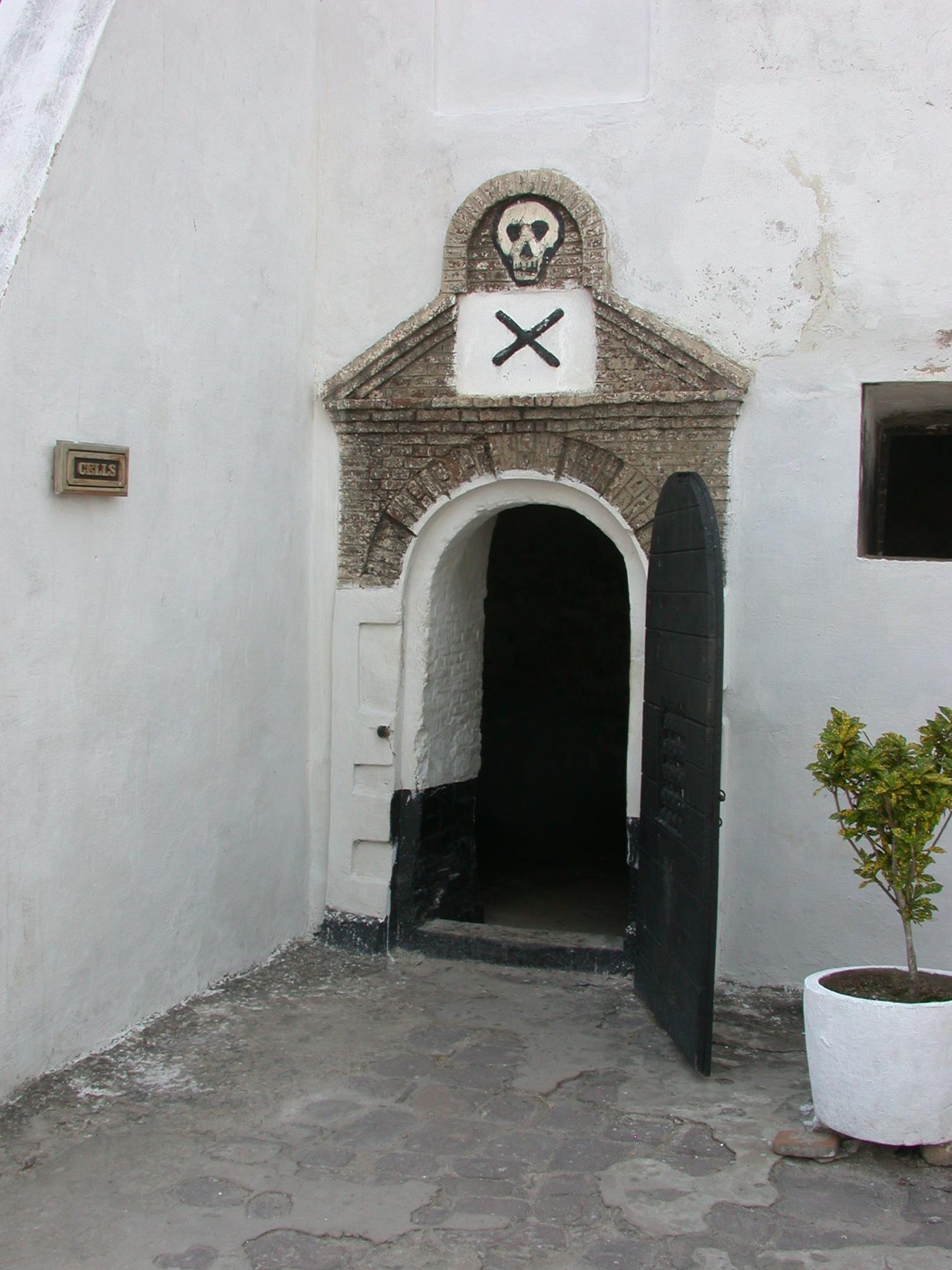 Slave Cell for Slaves Condemned to Death by Starvation, Elmina Slave Fort, Elmina, Ghana