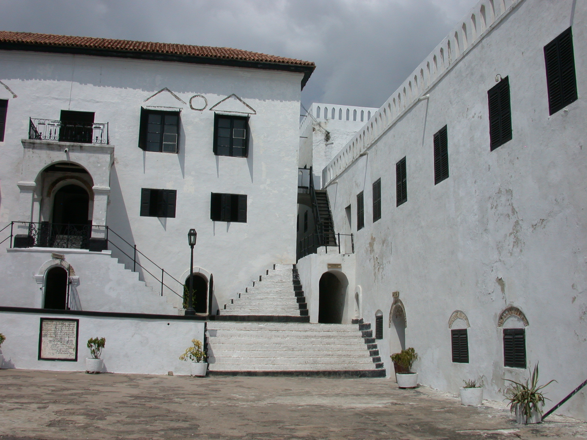 Courtyard, Elmina Slave Fort, Elmina, Ghana