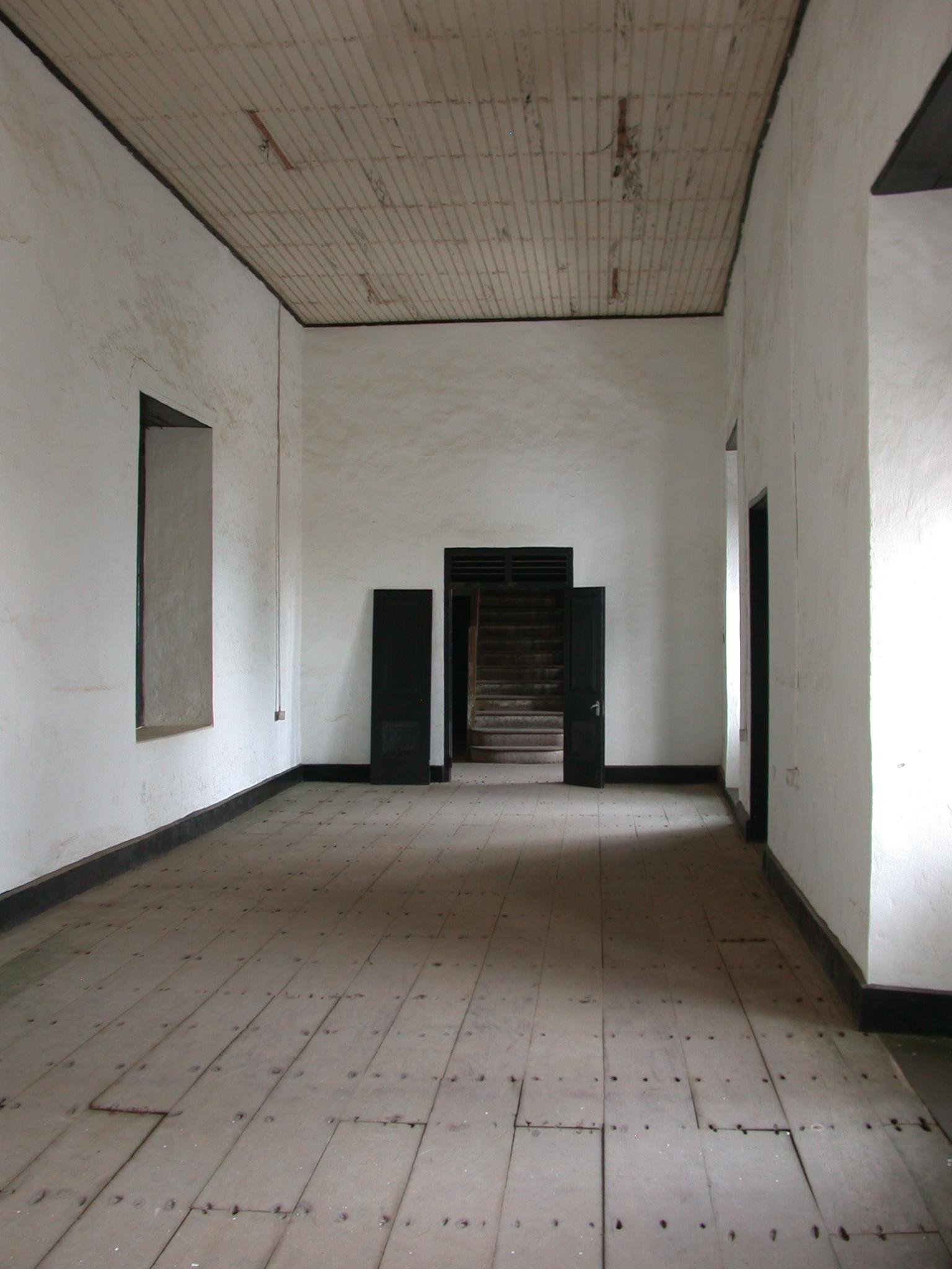 Interior Upper Level Corridor, Elmina Slave Fort, Elmina, Ghana