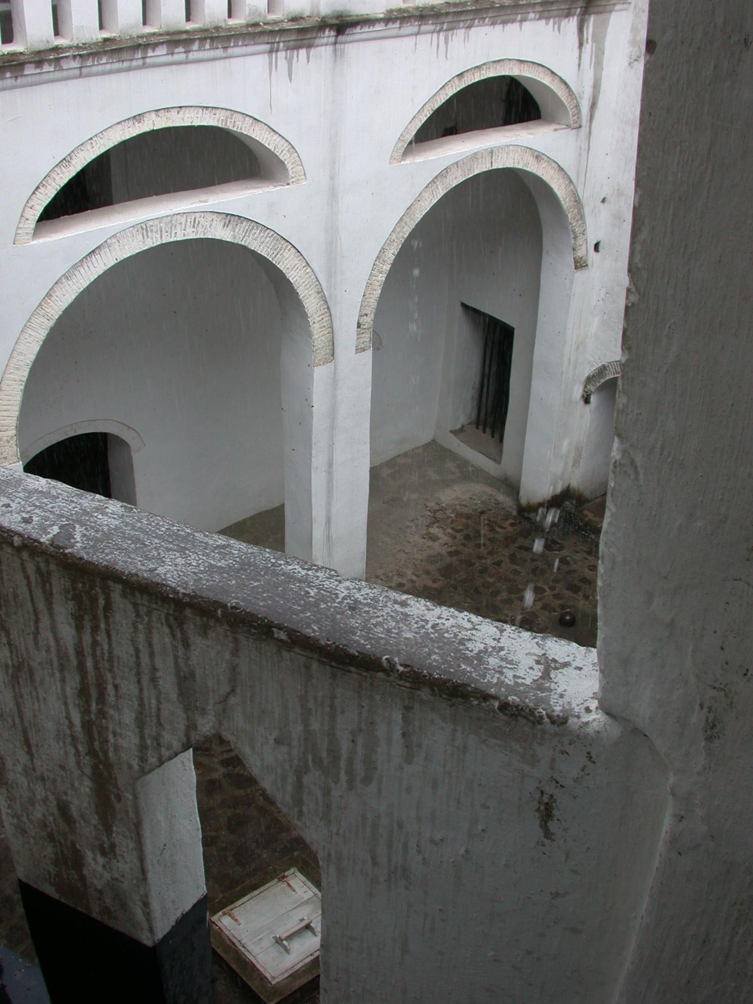View From Upper Level, Elmina Slave Fort, Elmina, Ghana