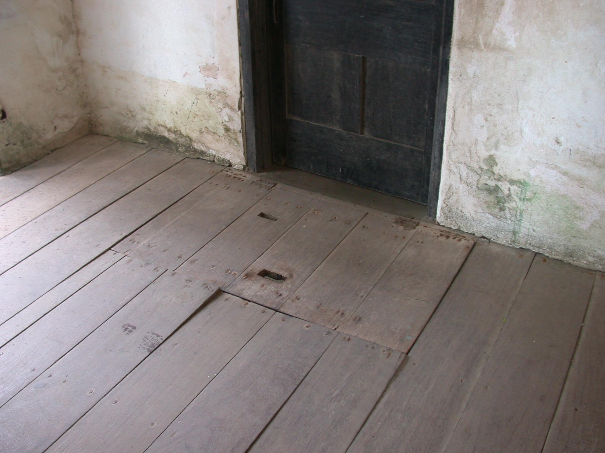Trap Door on Upper Level, Elmina Slave Fort, Elmina, Ghana