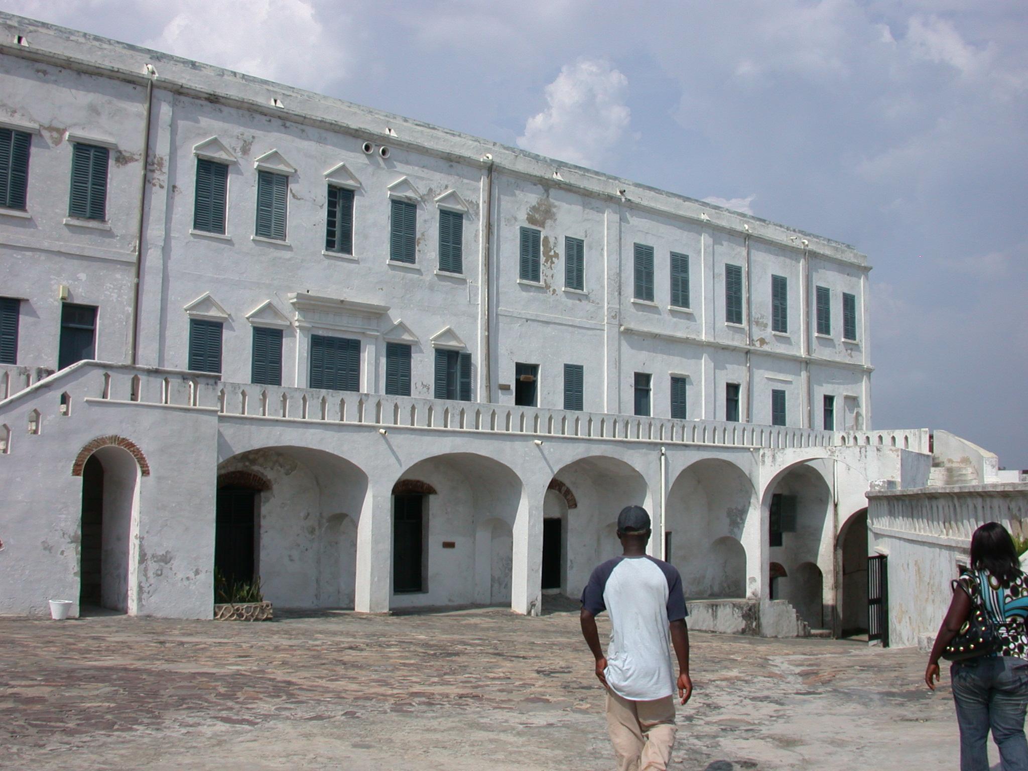 Courtyard, Cape Coast Slave Fort, Cape Coast, Ghana