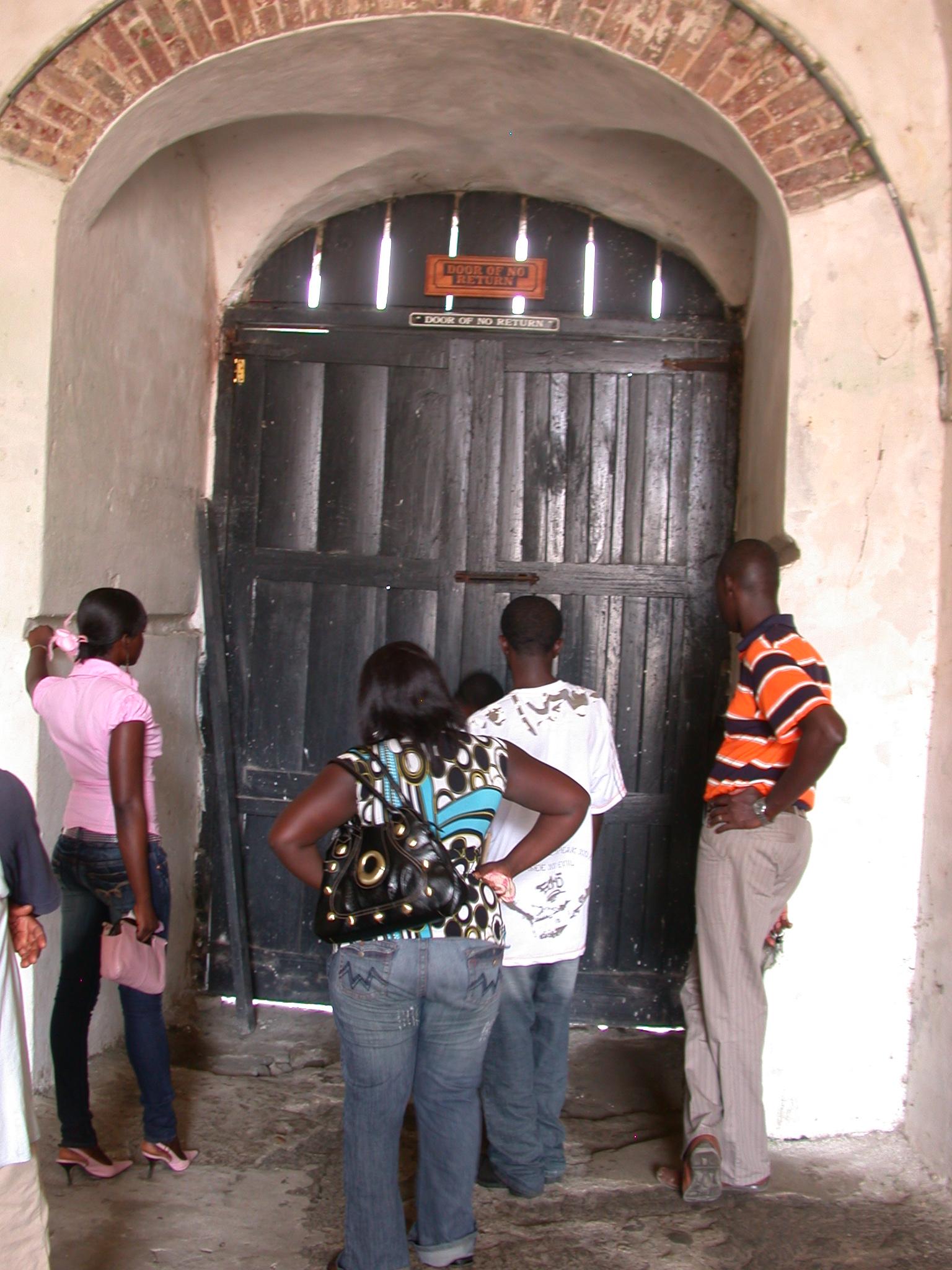 Door of No Return, Cape Coast Slave Fort, Cape Coast, Ghana