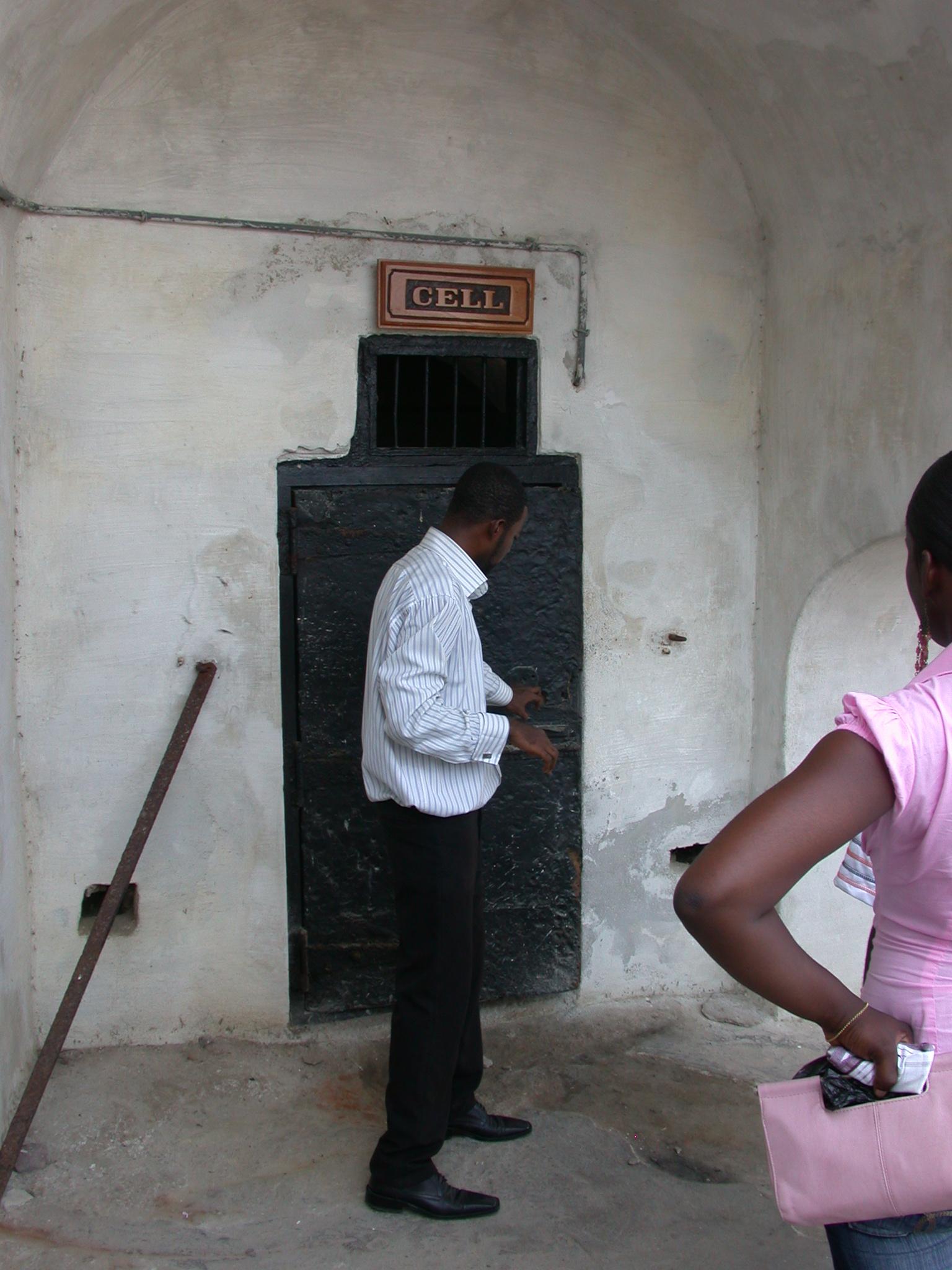 Cell, Cape Coast Slave Fort, Cape Coast, Ghana