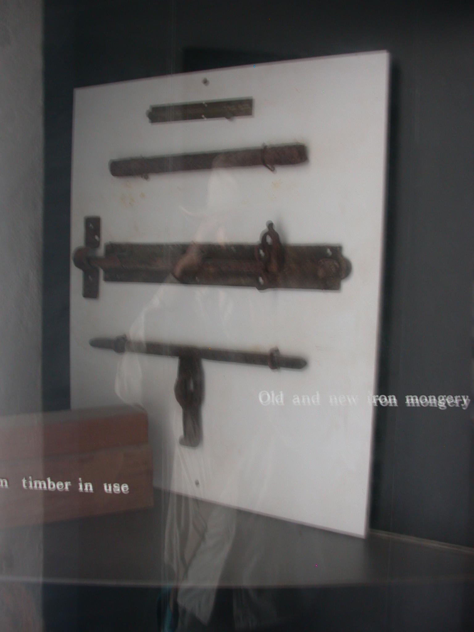 Iron Mongery, Cape Coast Slave Fort Museum, Cape Coast, Ghana