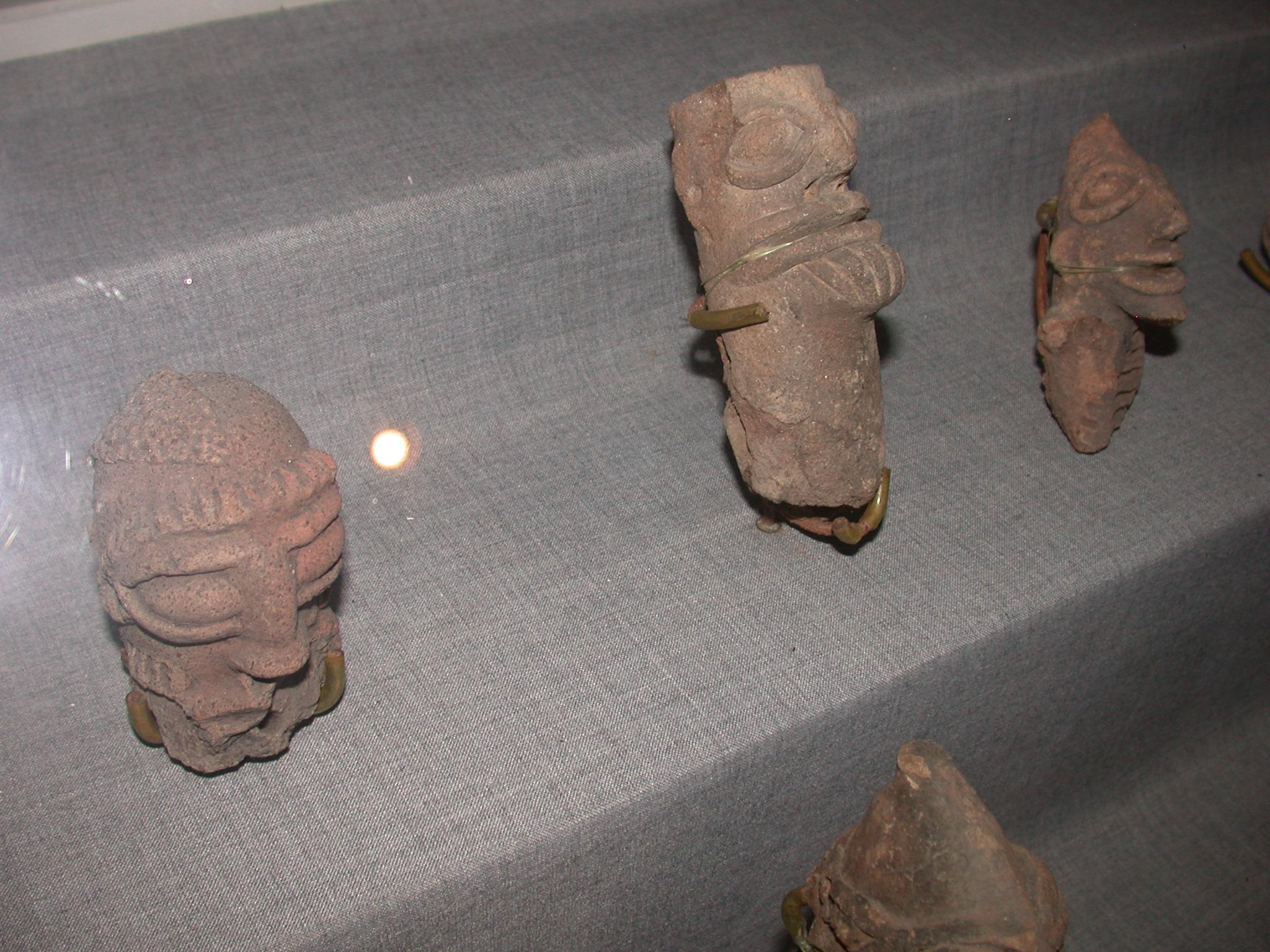 Komaland Koma-Bulsa Figurines, Cape Coast Slave Fort Museum, Cape Coast, Ghana