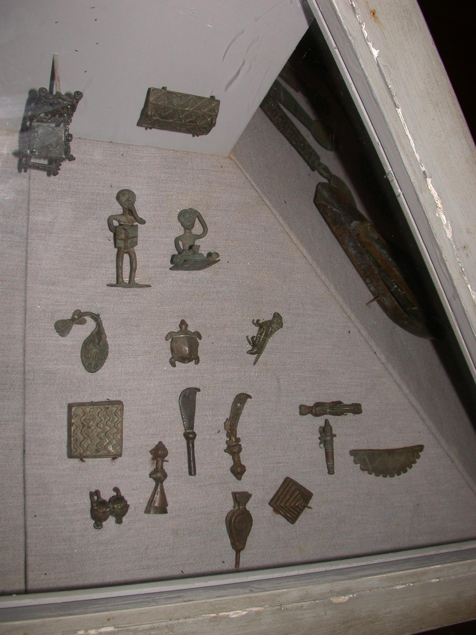 Ghana Gold Weights and Measures, Cape Coast Slave Fort Museum, Cape Coast, Ghana