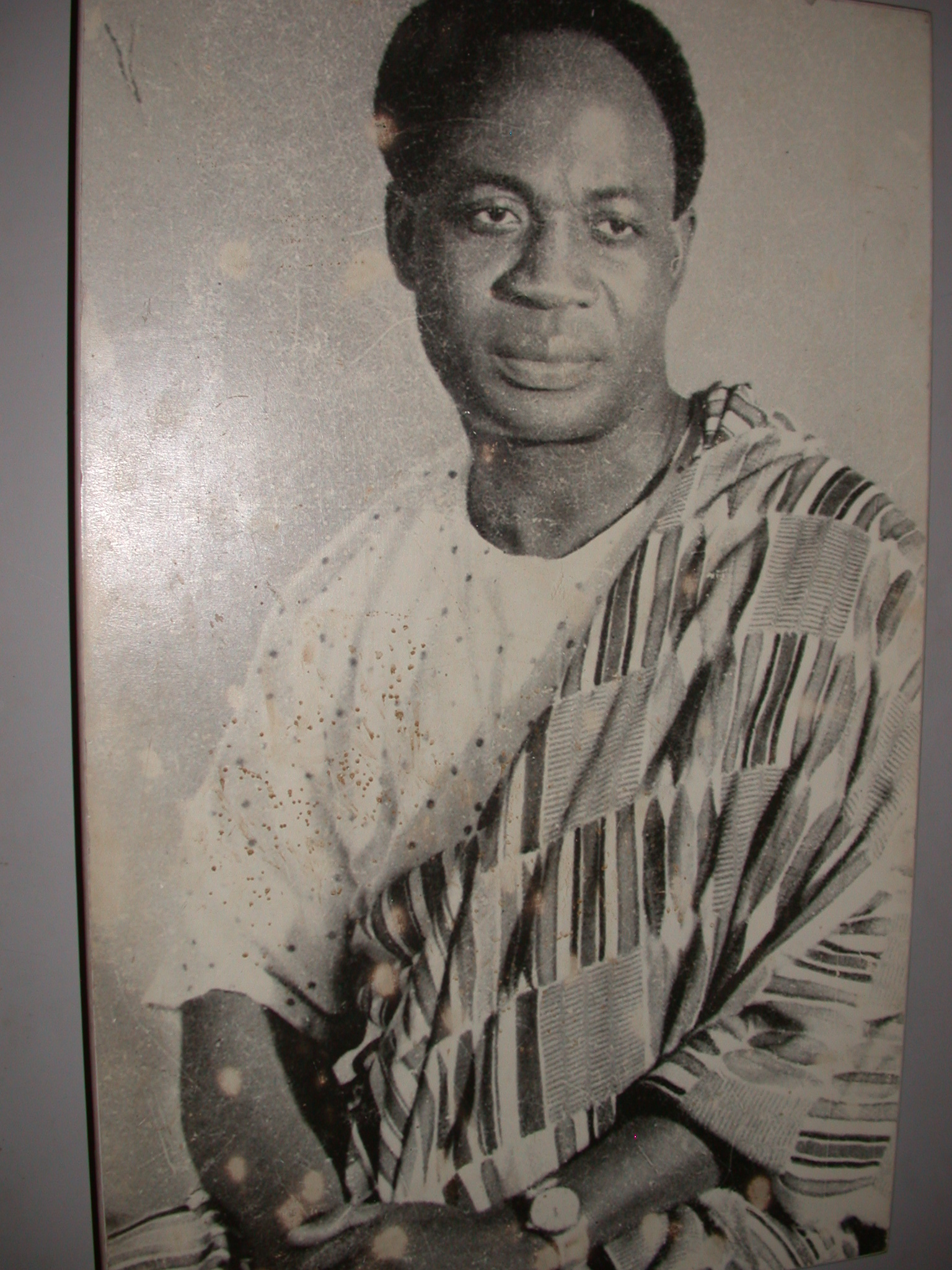 Photograph of Kwame Nkrumah, Cape Coast Slave Fort Museum, Cape Coast, Ghana