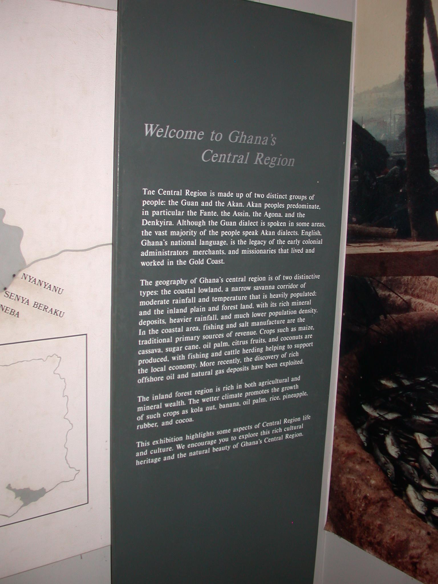 Ghana Central Region Description, Cape Coast Slave Fort Museum, Cape Coast, Ghana