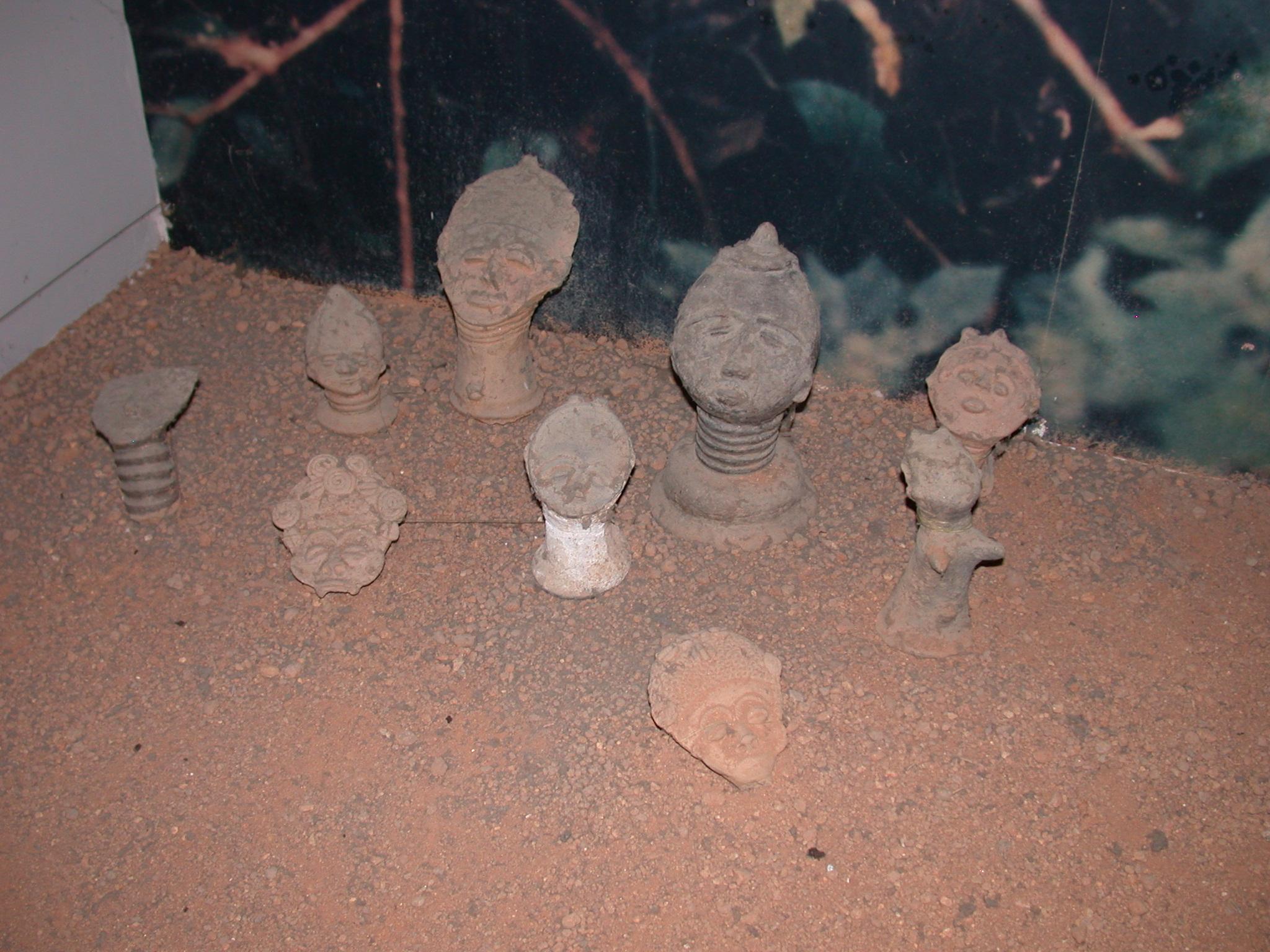 Funerary Pottery, Cape Coast Slave Fort Museum, Cape Coast, Ghana