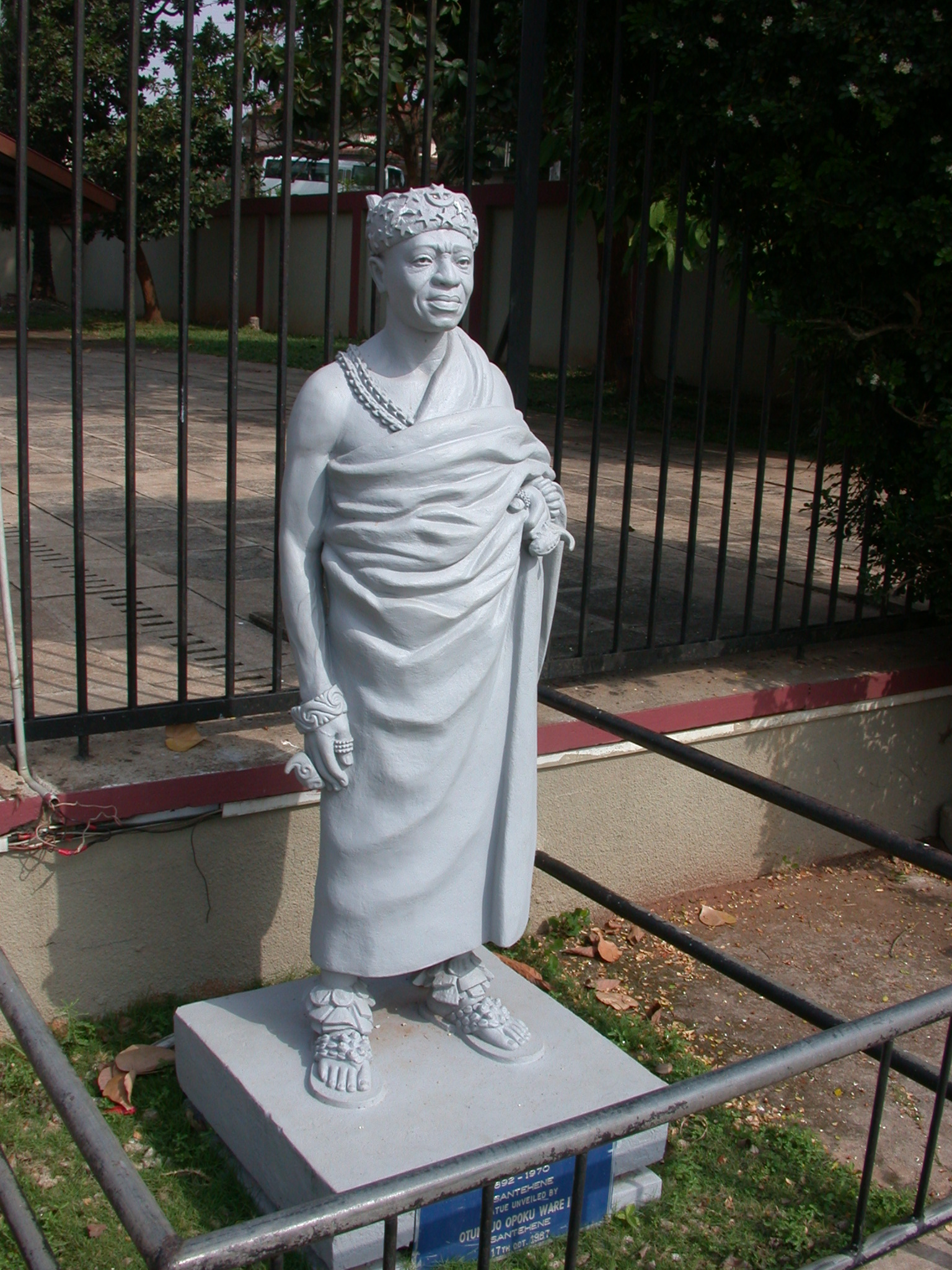 Prempeh II Statue, Prempeh II Museum, Kumasi, Ghana