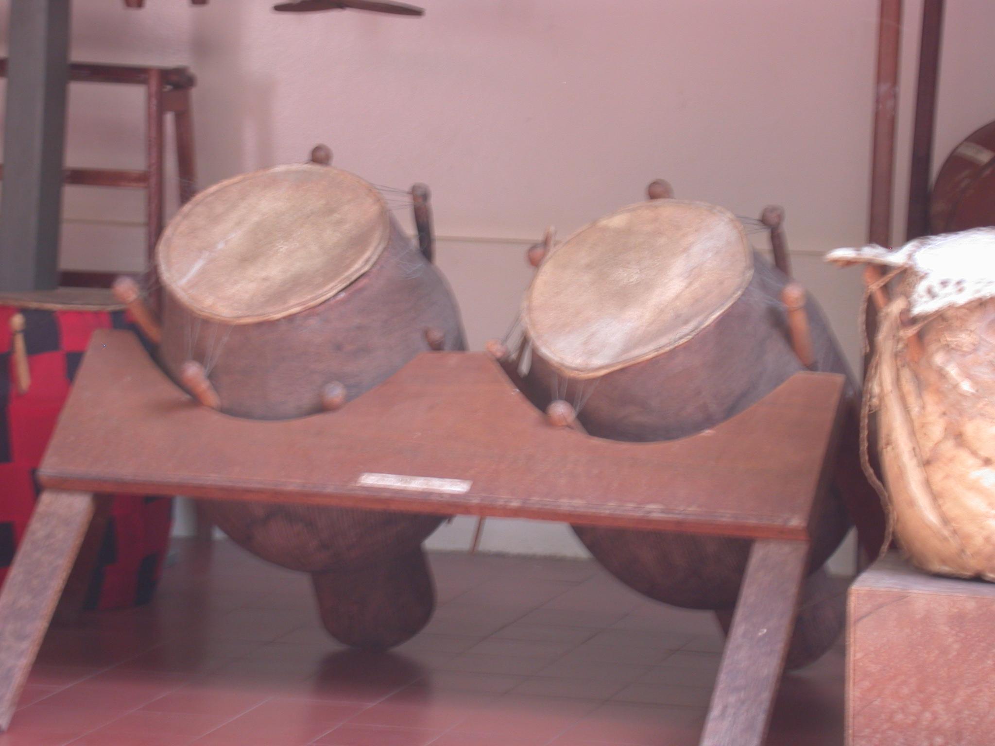 Talking Drums, Prempeh II Museum, Kumasi, Ghana