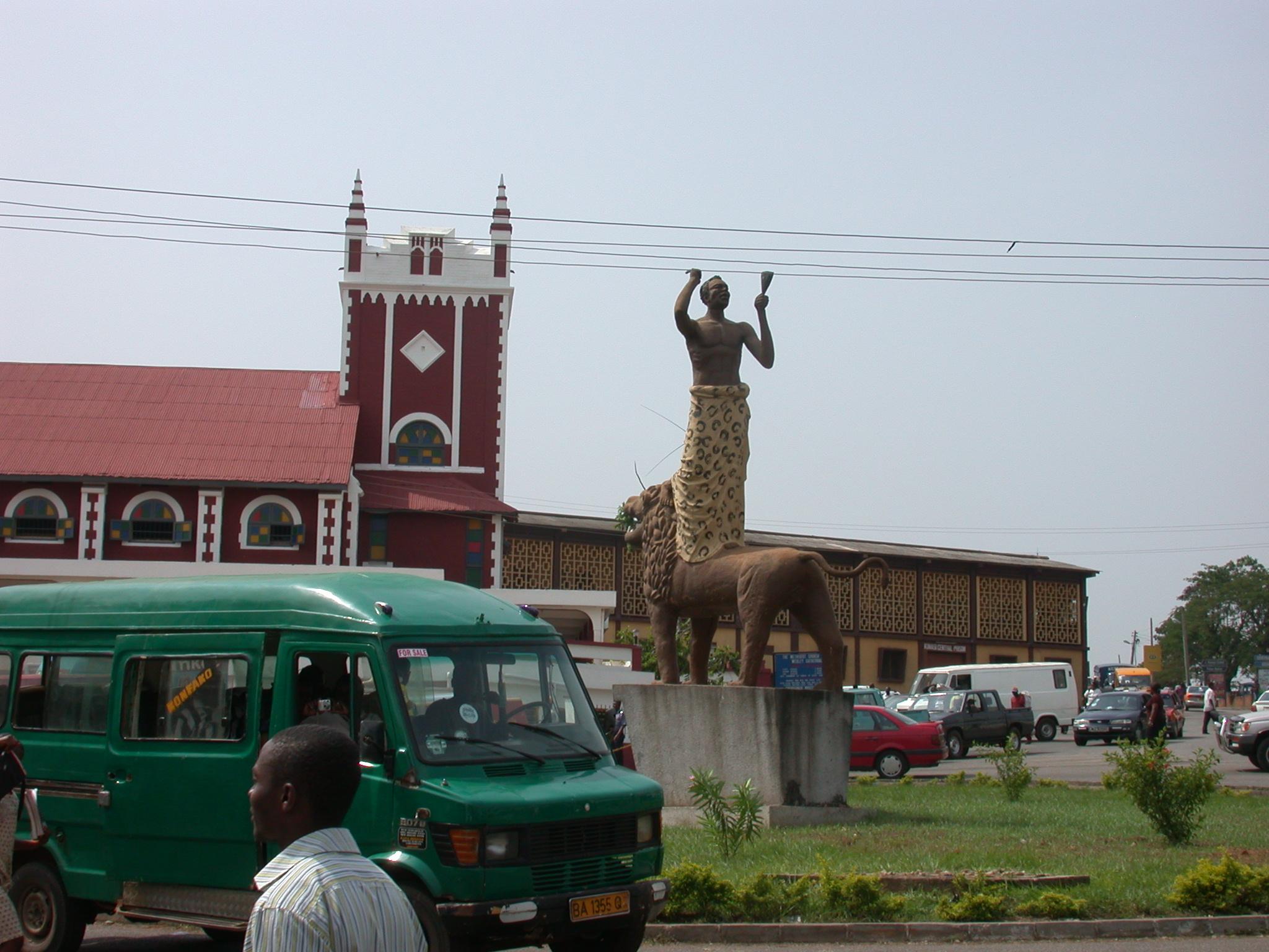 Monument, Kumasi, Ghana