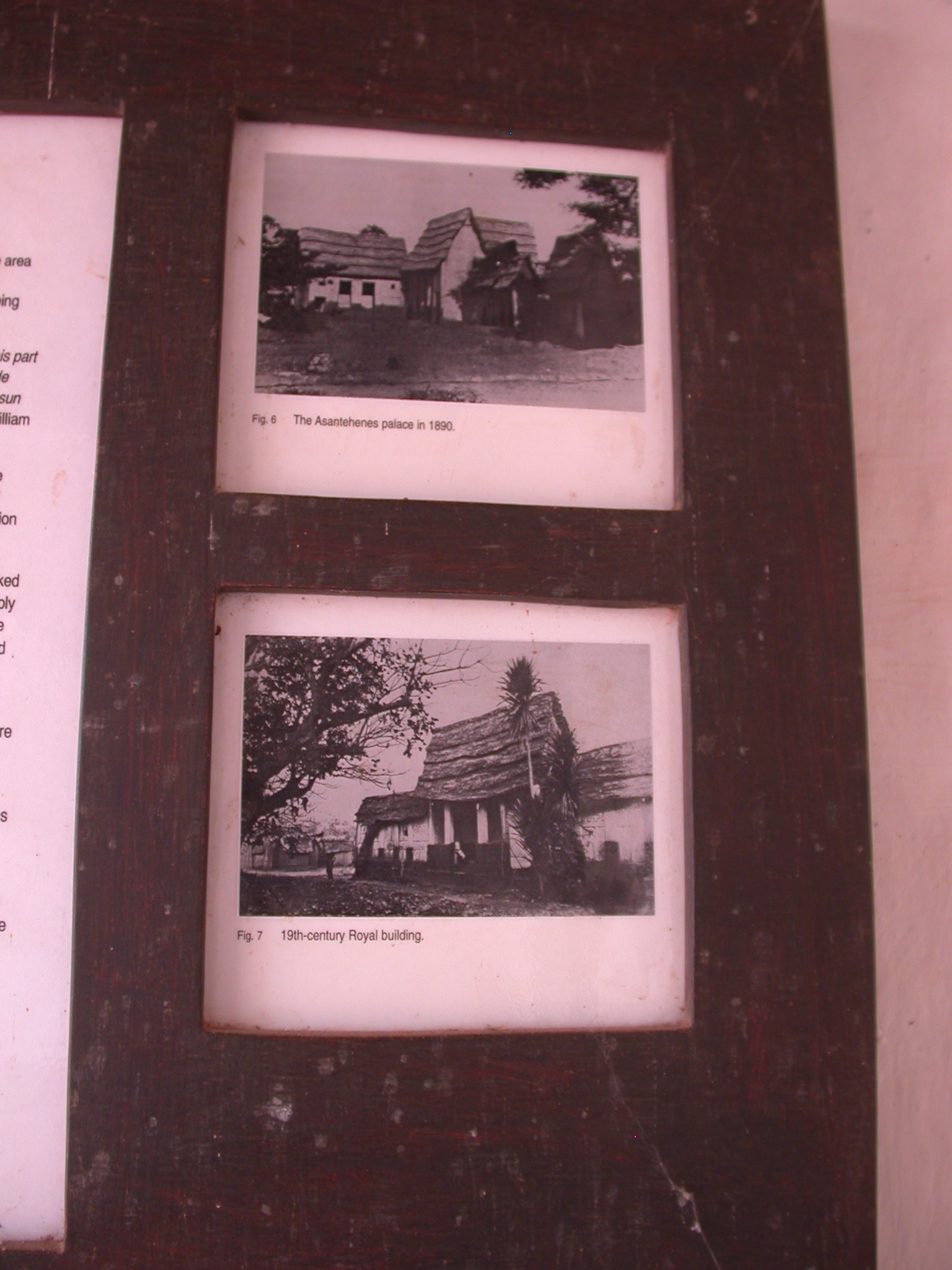 Photographs of Asante Royal Palace and Building, Asante Traditional Shrine at Ejisu-Besease, Ghana