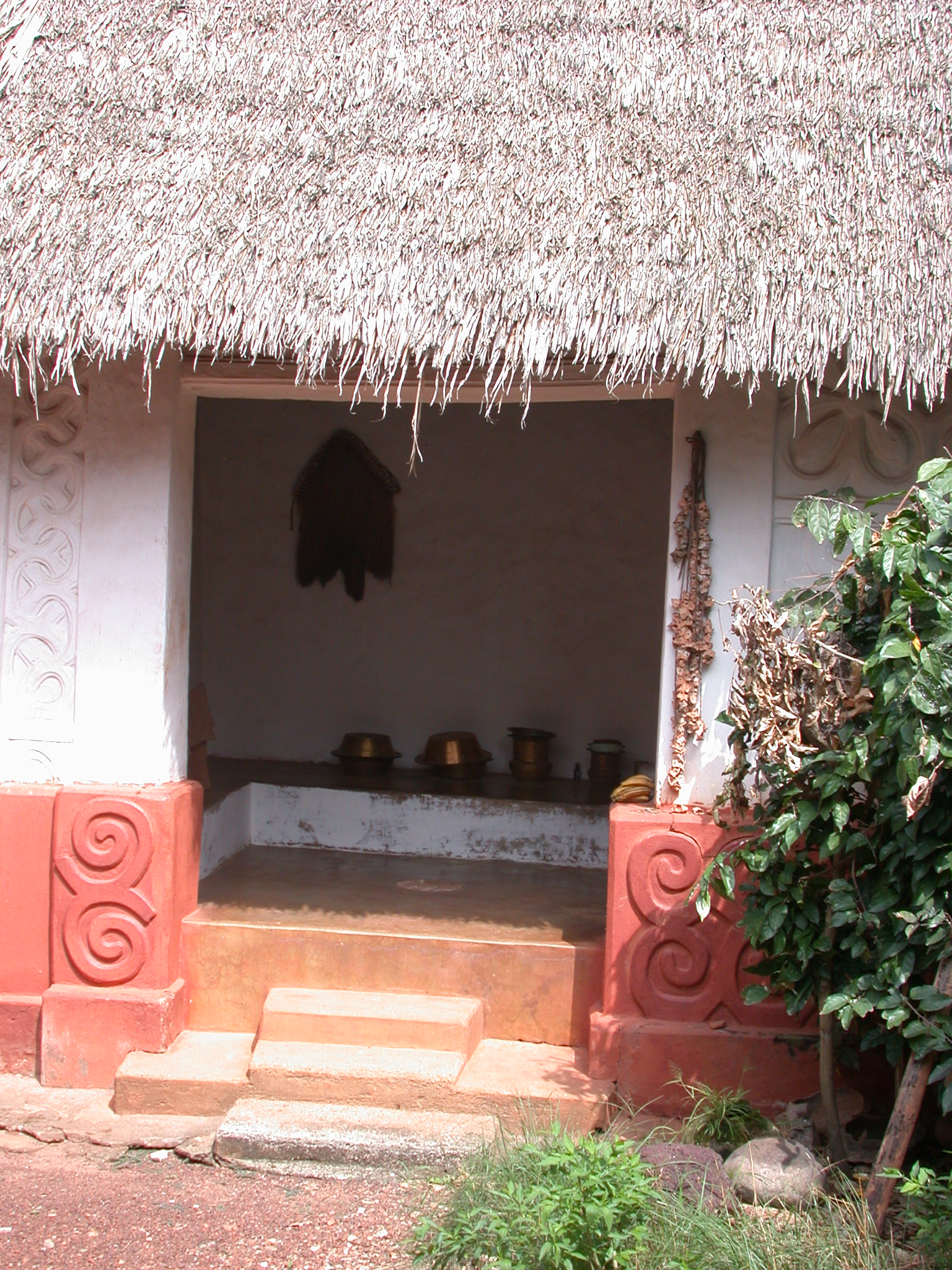 Asante Traditional Shrine at Ejisu-Besease, Ghana