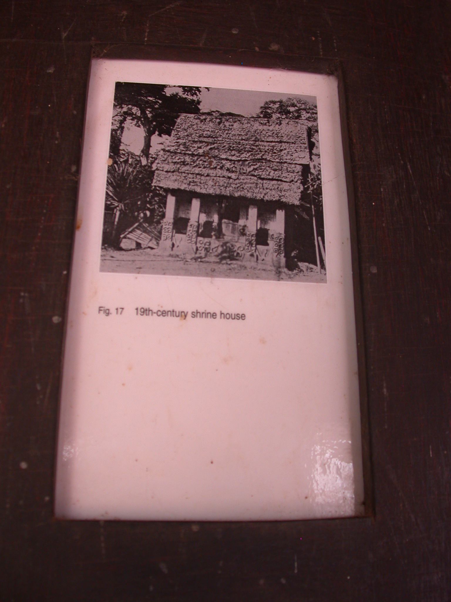 Photograph of Nineteenth Century Shrine House, Asante Traditional Shrine at Ejisu-Besease, Ghana
