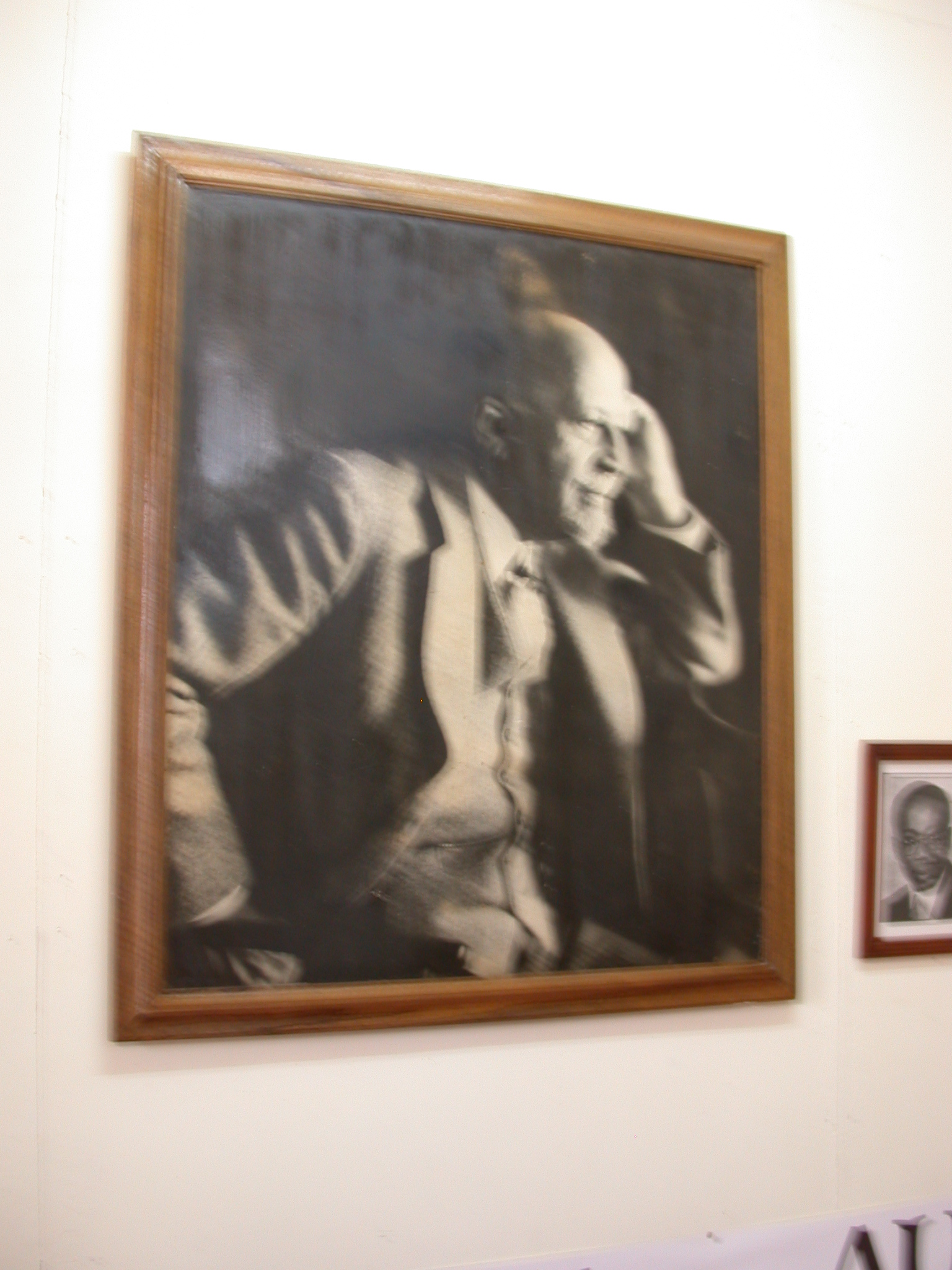 Photograph of WEB DuBois, WEB DuBois Memorial Centre for Pan African Culture, Accra, Ghana