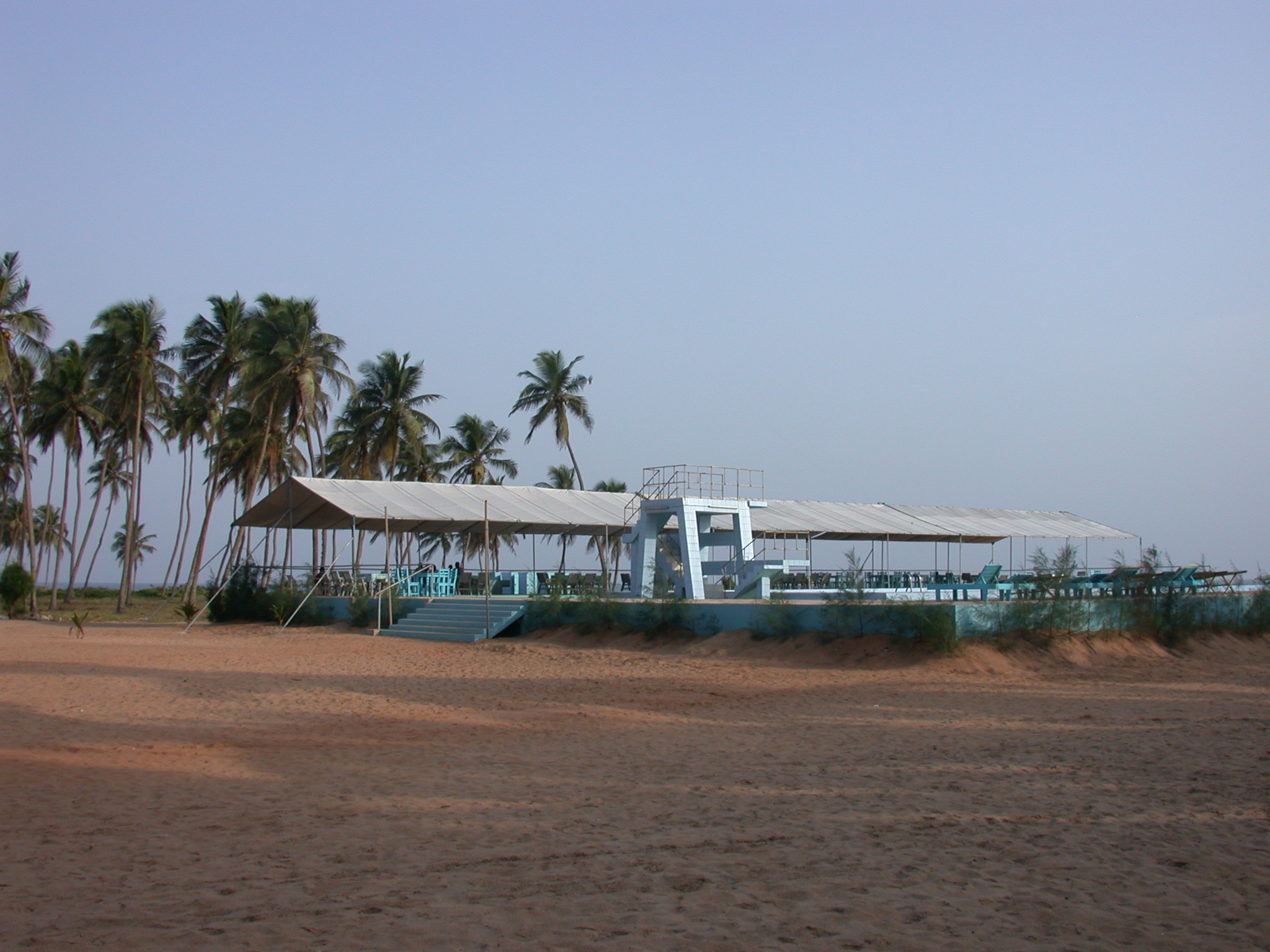 Sea-Water Swimming Pool, Hotel Jardin Brasilien, Ouidah, Benin