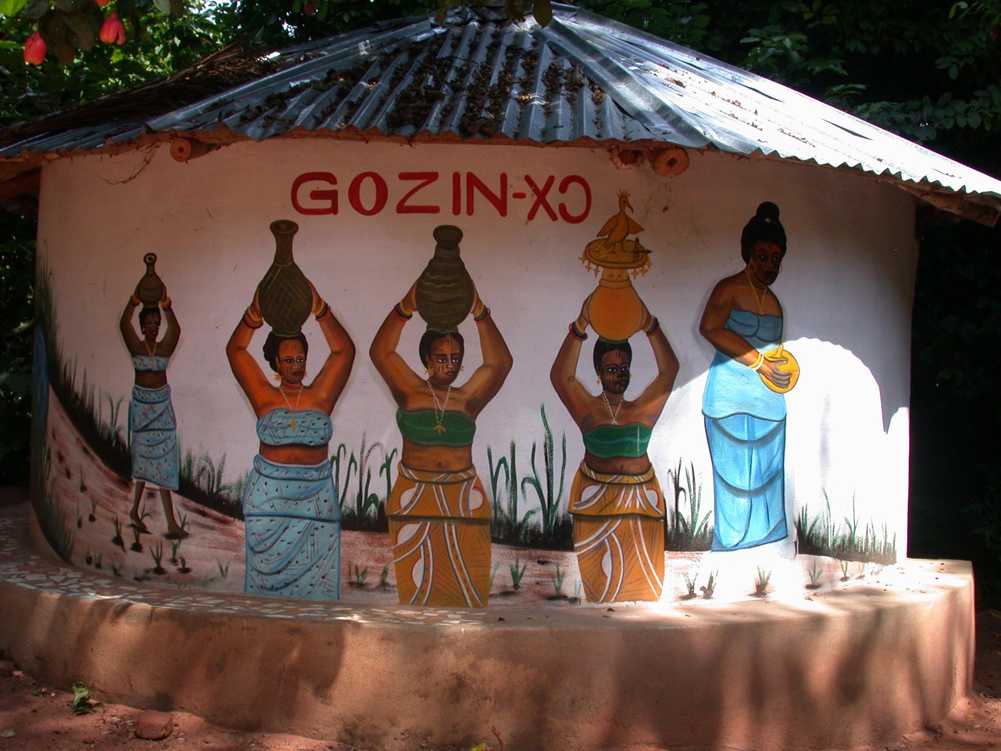 Gozin Shrine, Kpasse Sacred Forest, Ouidah, Benin