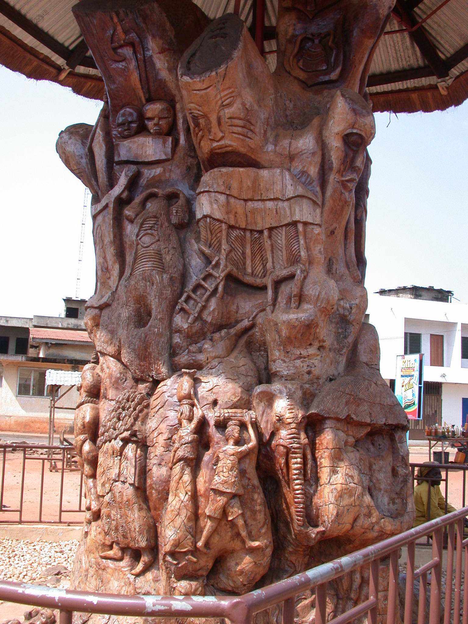 Tree Sculpture of Local History, Ouidah, Benin