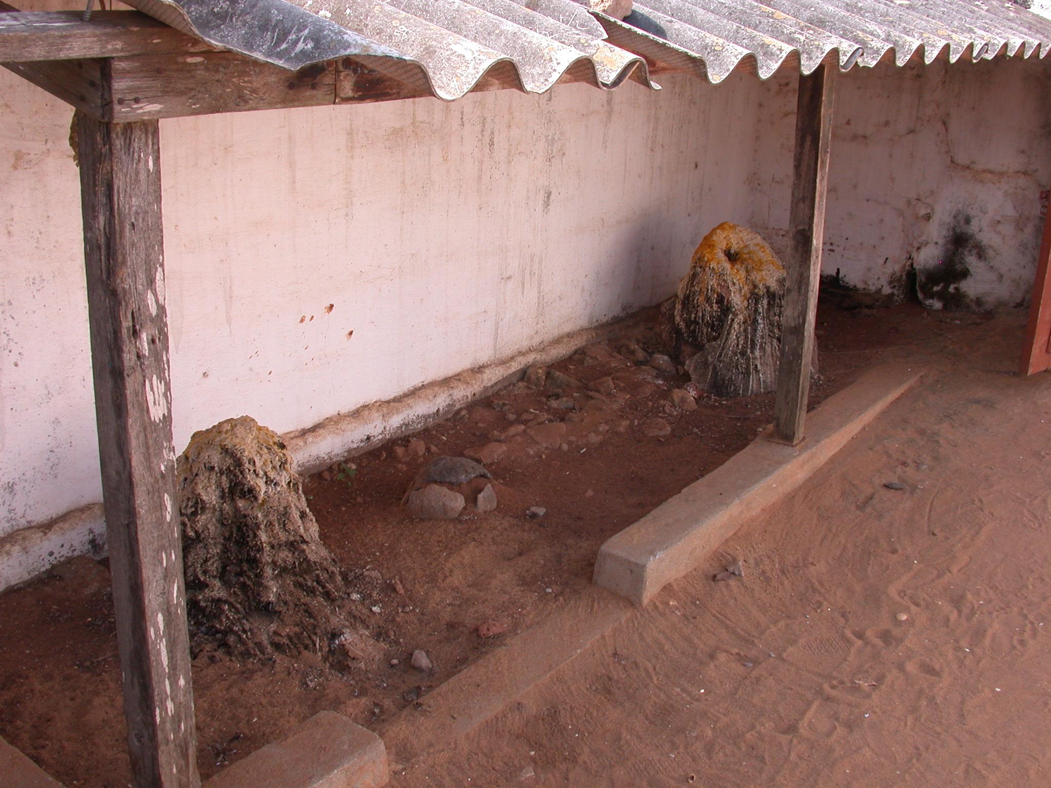 Shrines, Daagbo Hounon Dodo Palace, Ouidah, Benin