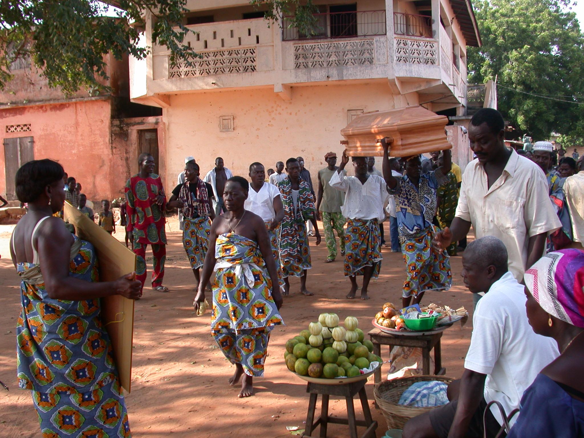 Funeral Procession, Ouidah, Benin