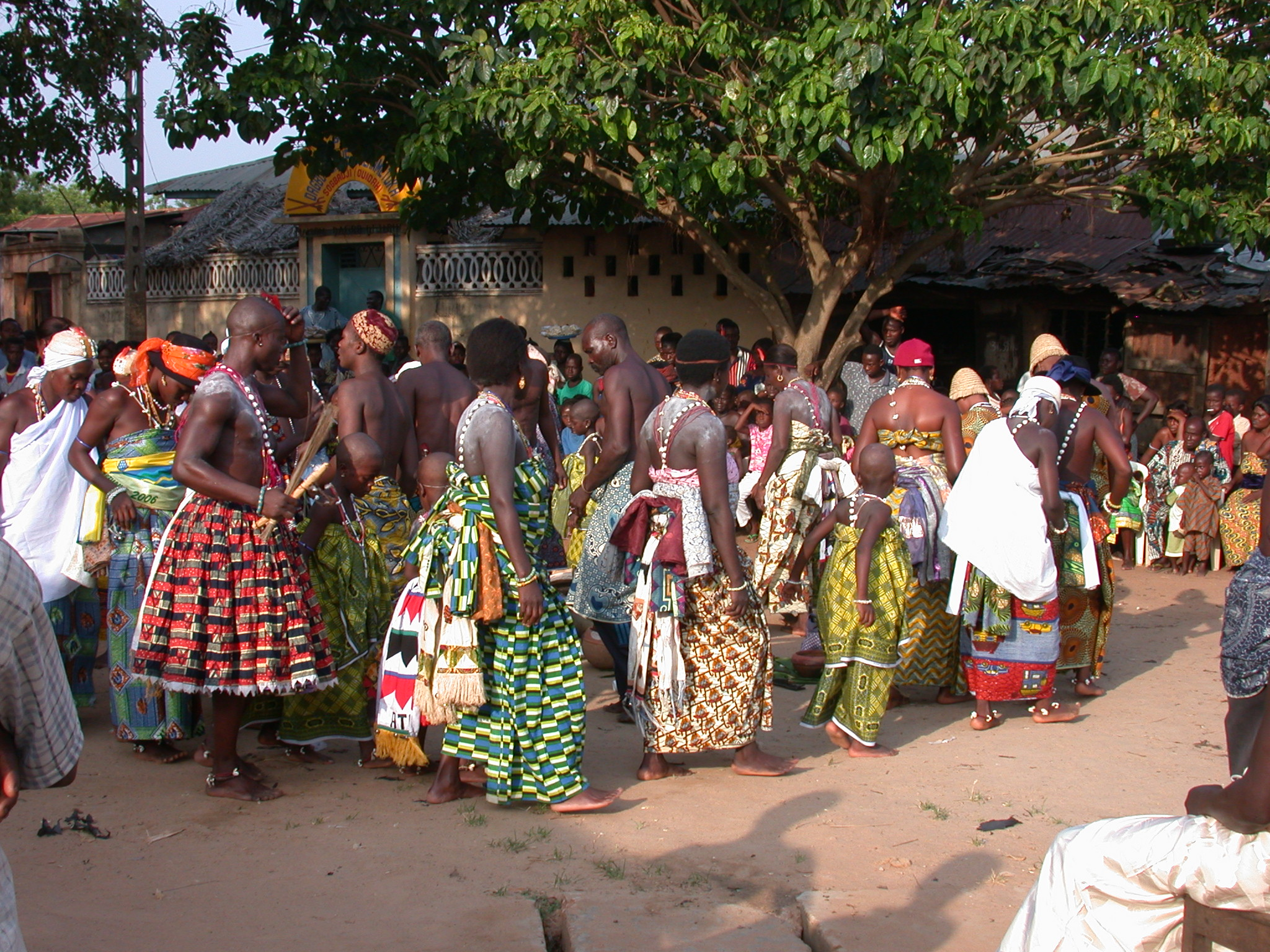 Probably Dance for a Particular Deity, Vodun Ritual, Ouidah, Benin