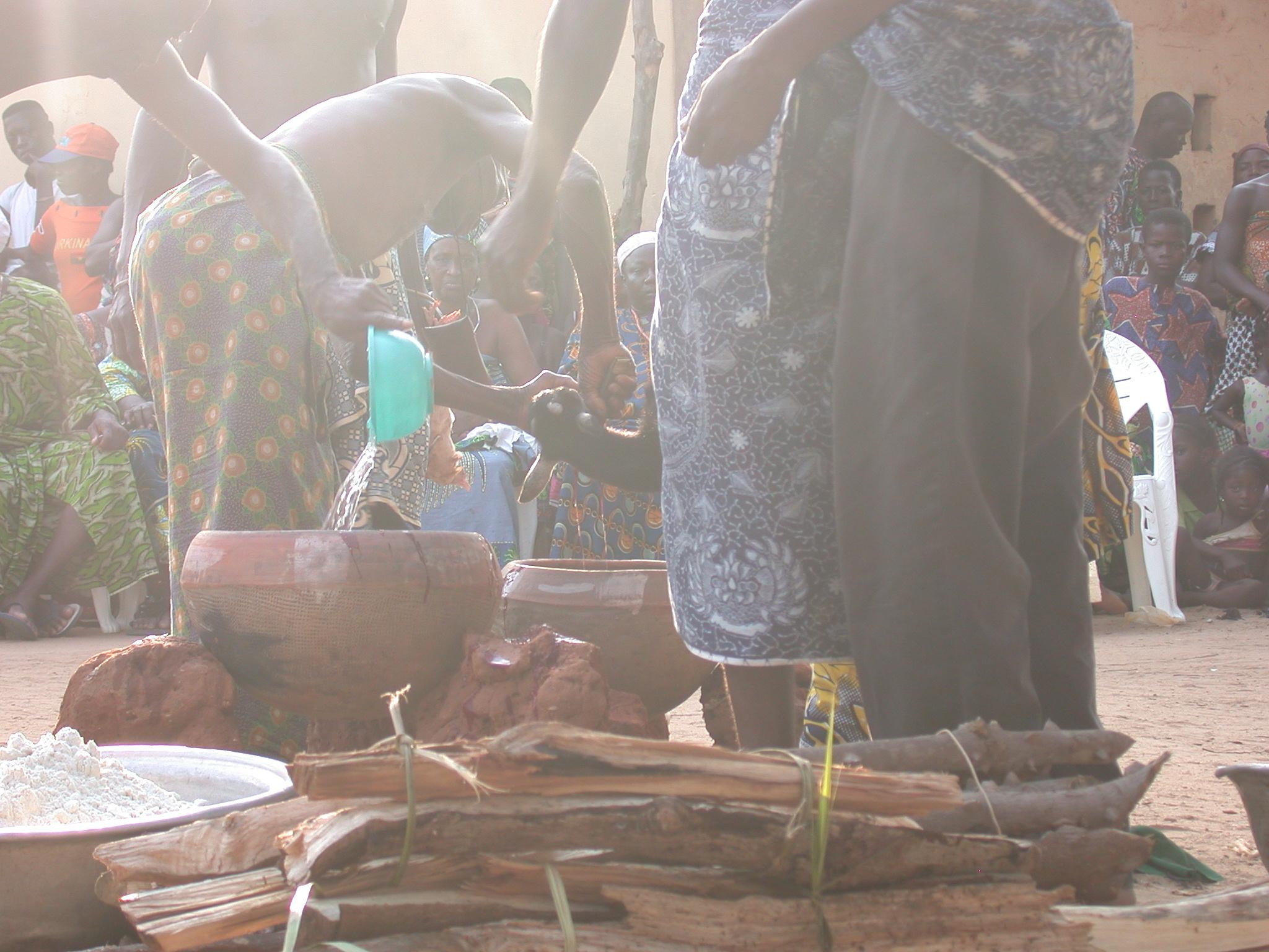 Sacrificing a Goat, Vodun Ritual, Ouidah, Benin