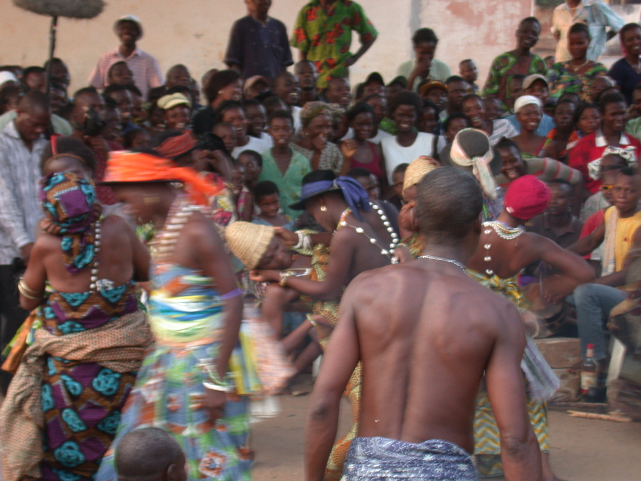 Love Dance Between Sexual Women, Vodun Ritual, Ouidah, Benin