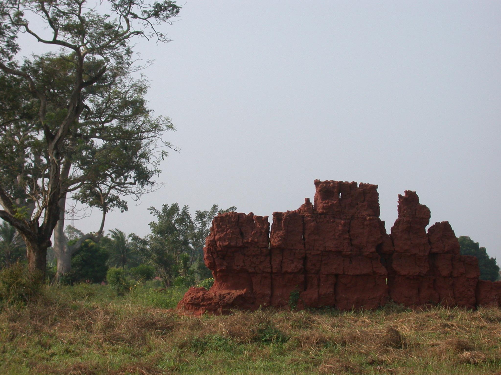 Palace Wall Ruins, Abomey, Benin