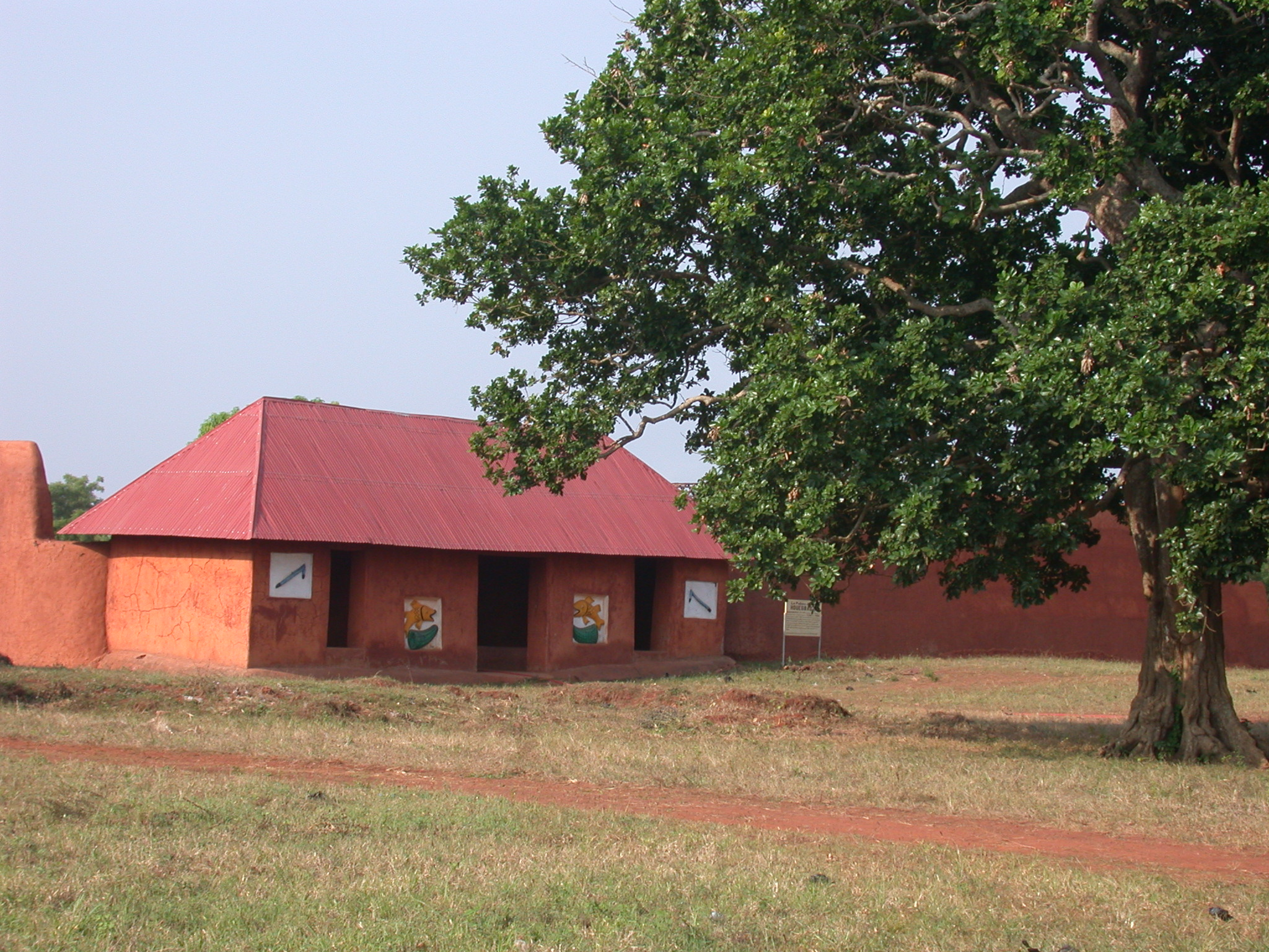 Palace of King Houegbadja, Abomey, Benin