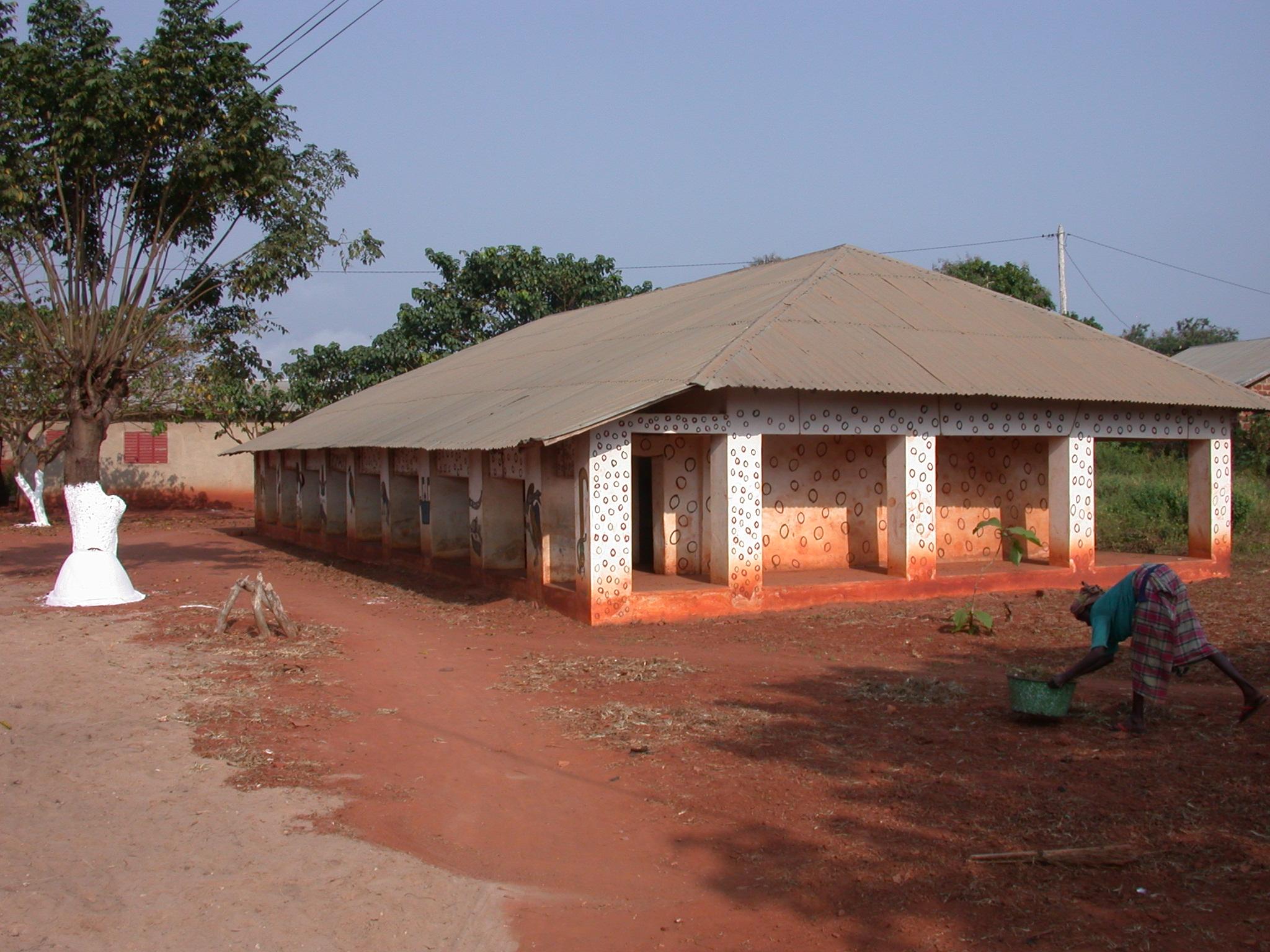 Zomadonou Akaba Temple, Abomey, Benin