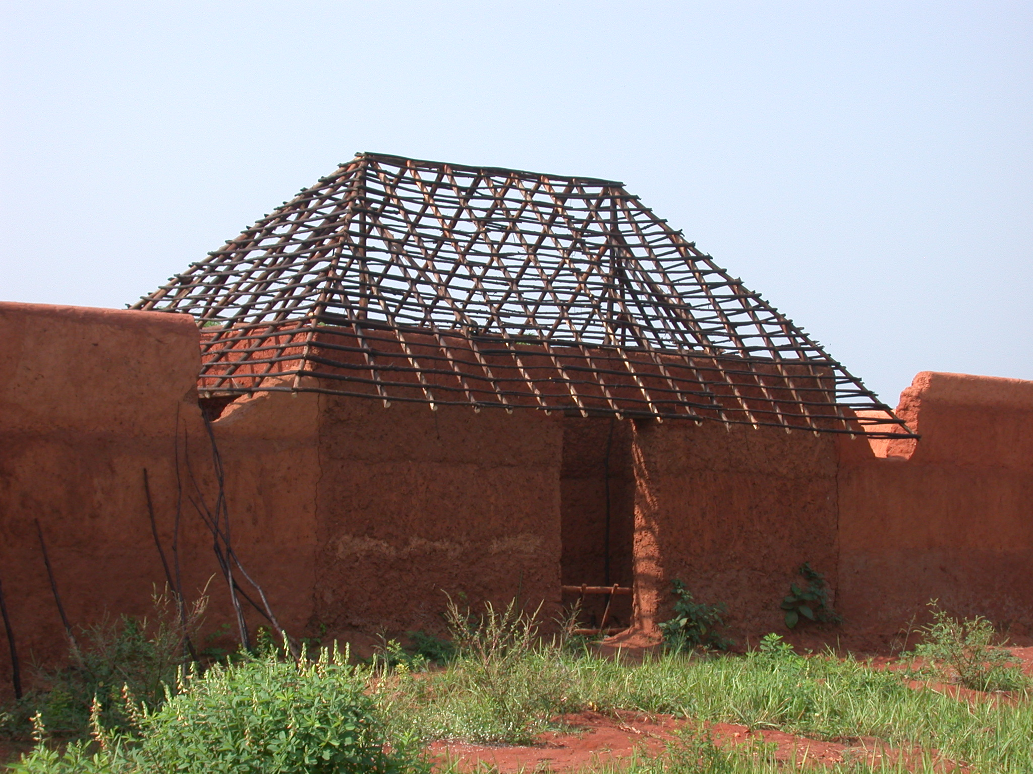 Reconstruction of Palace of King Houegbadja, Abomey, Benin