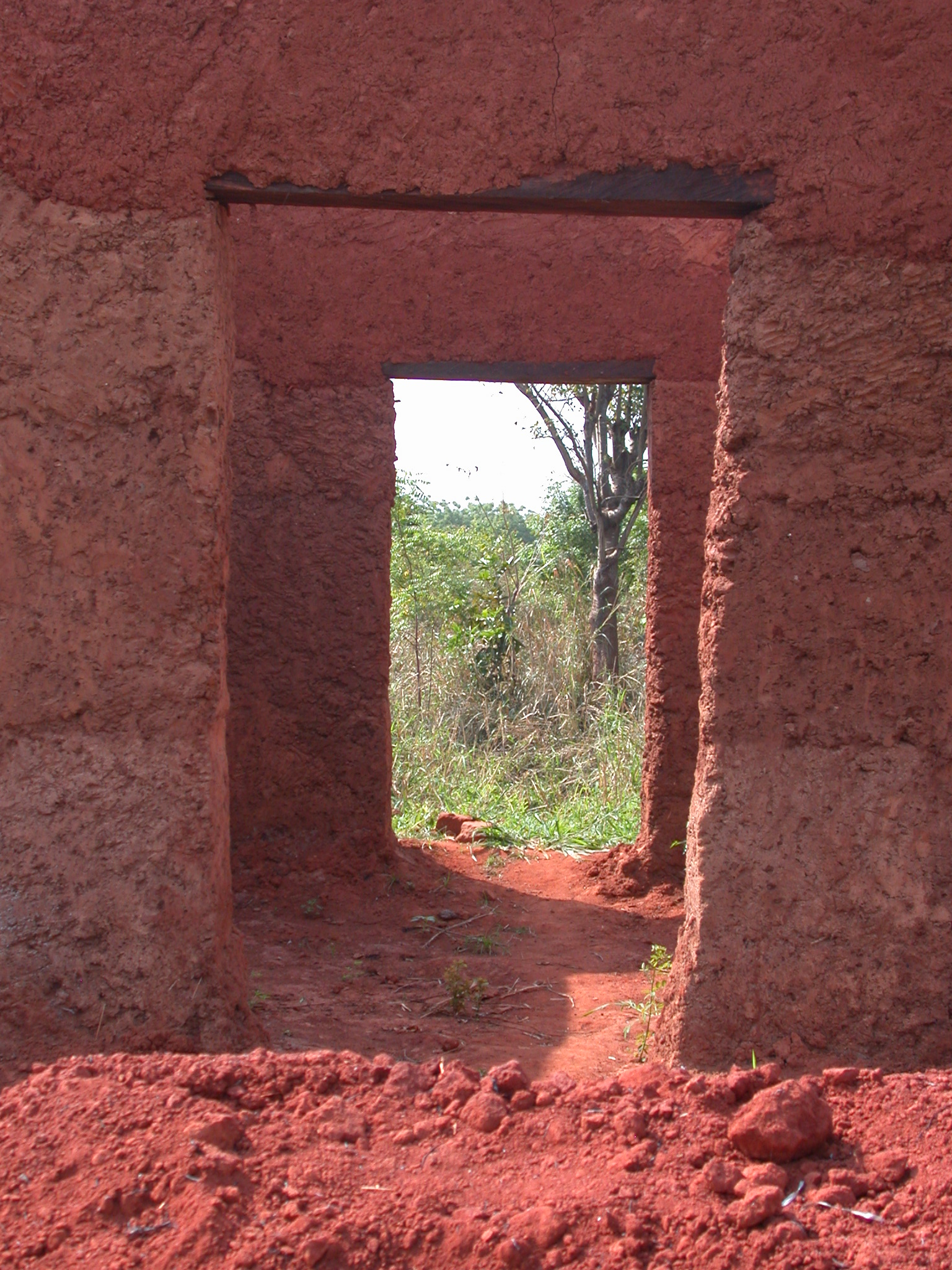 Rear Doors of Compound, Palace of King Houegbadja, Abomey, Benin