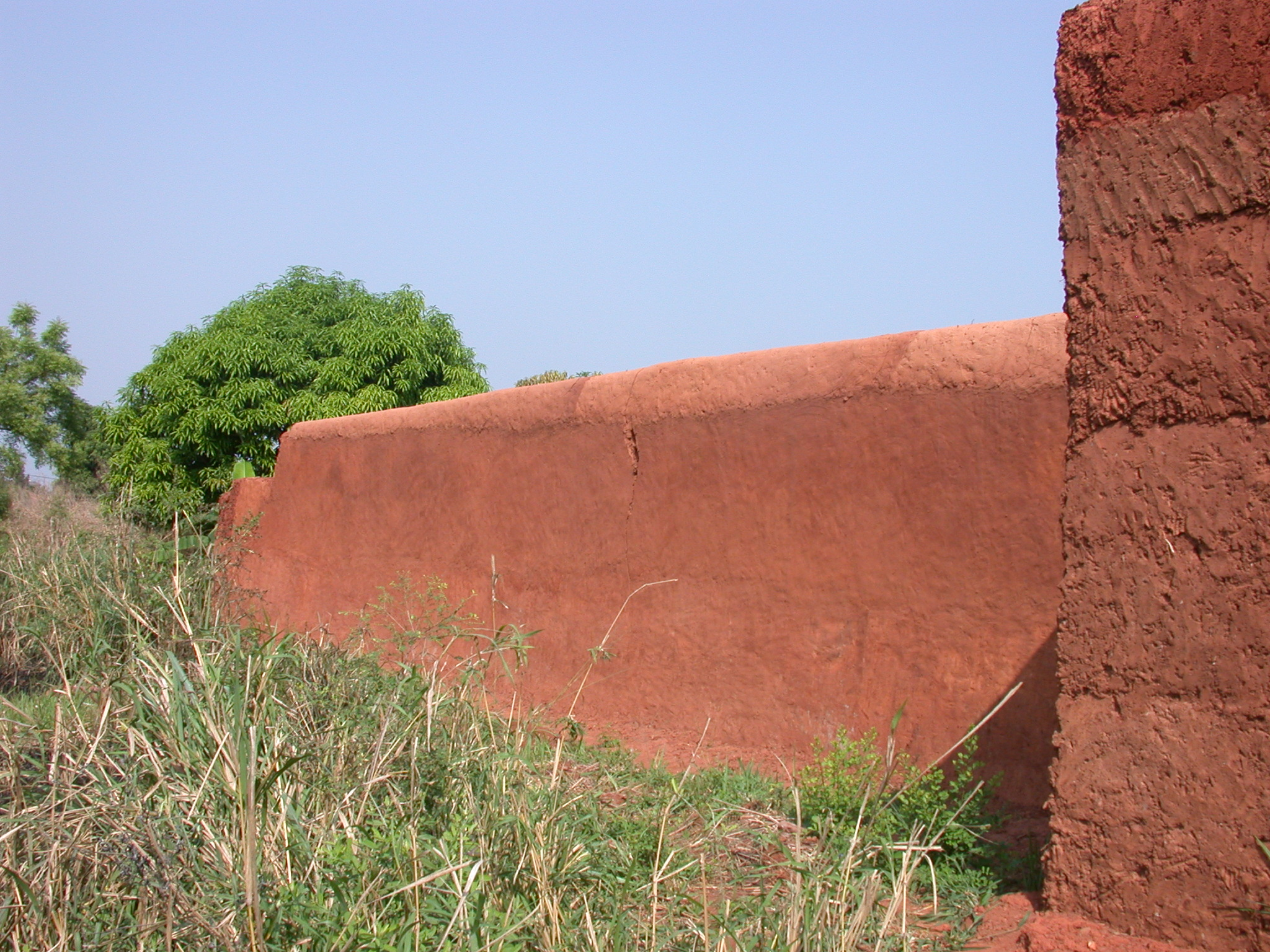 Rear Wall of Compound, Palace of King Houegbadja, Abomey, Benin