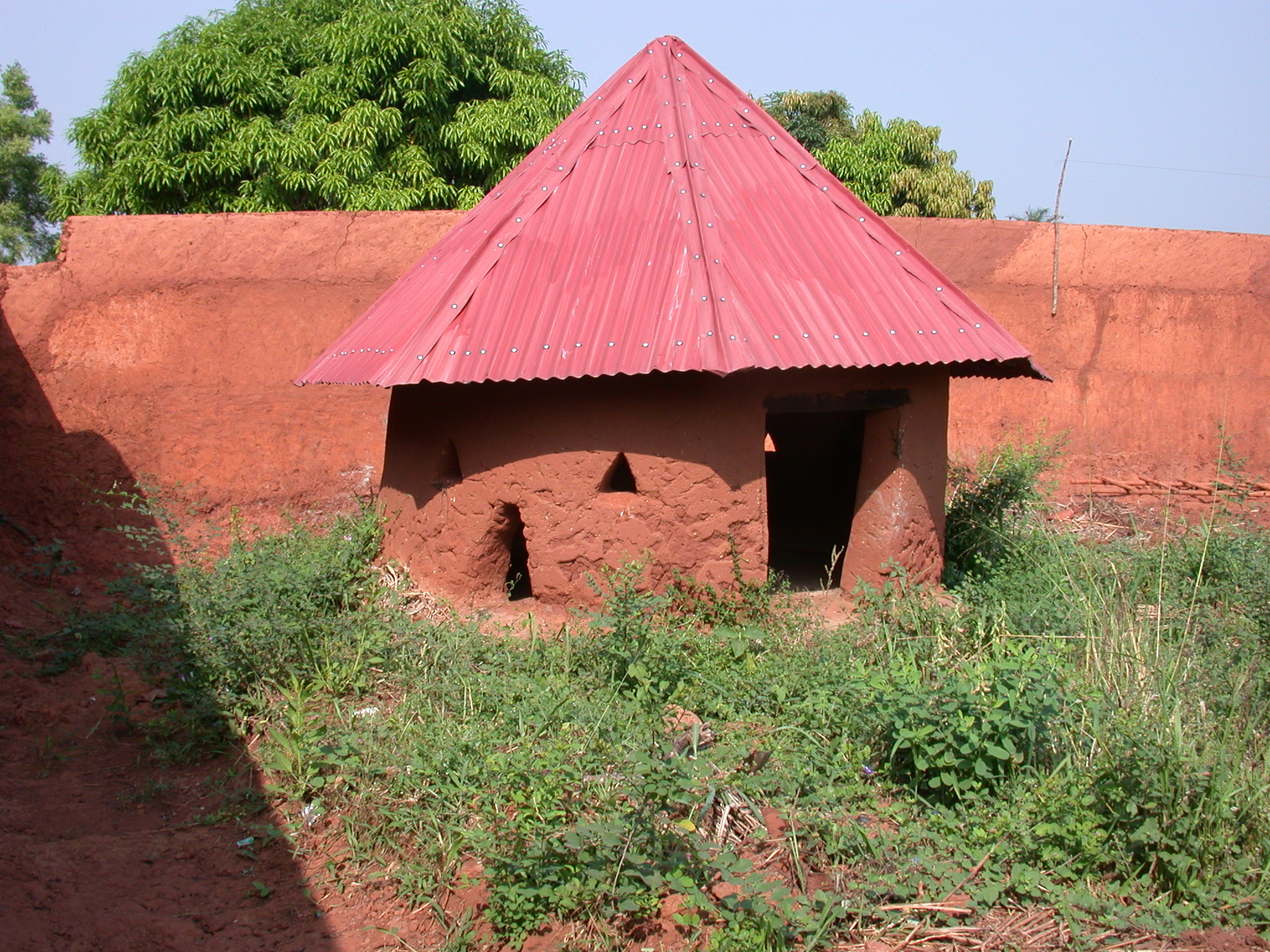 Reconstructed Hut, Palace of King Houegbadja, Abomey, Benin