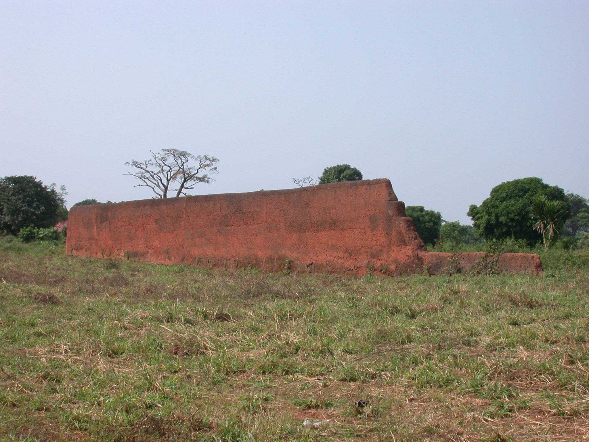 Ruins of Palace of King Agadja, Abomey, Benin