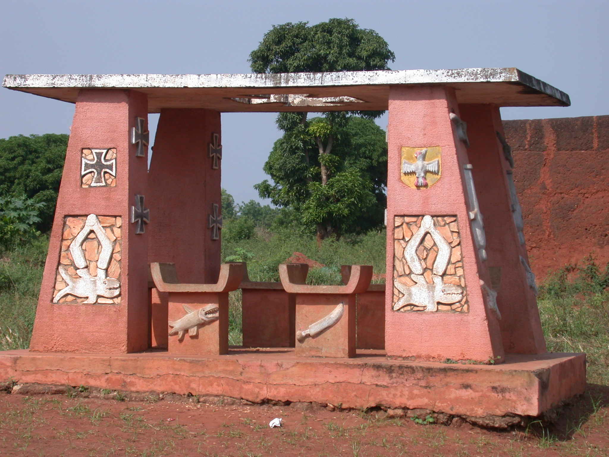 Monument to the Germans, Abomey, Benin