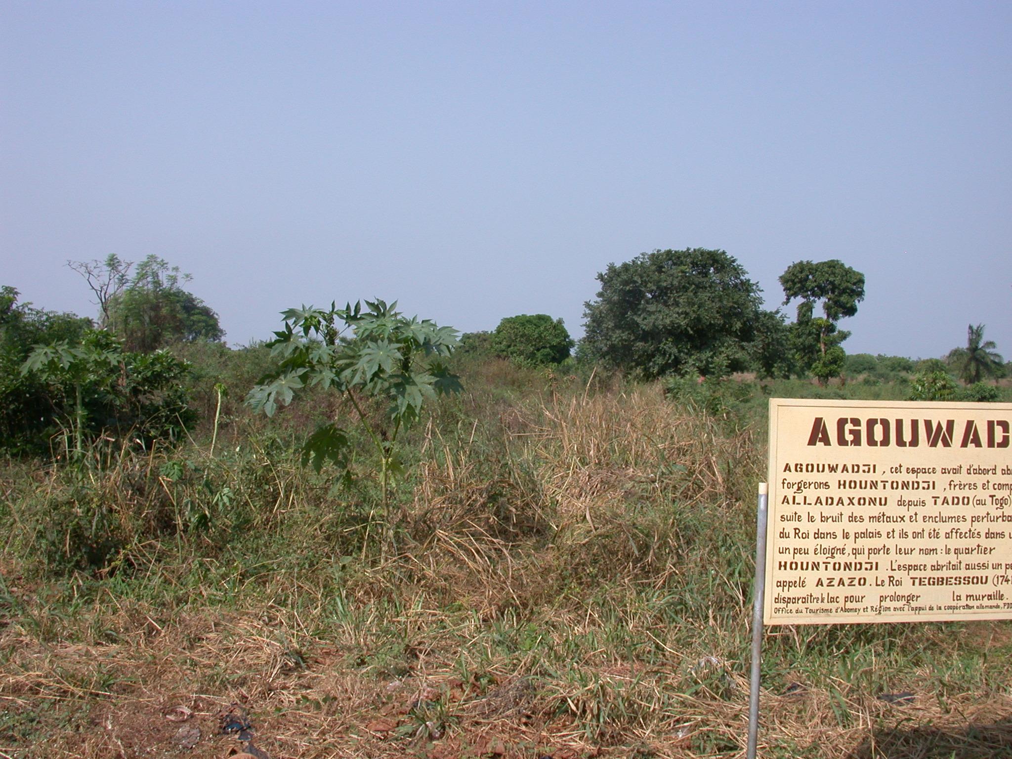 Agouwadji Blacksmith Shelter, Abomey, Benin