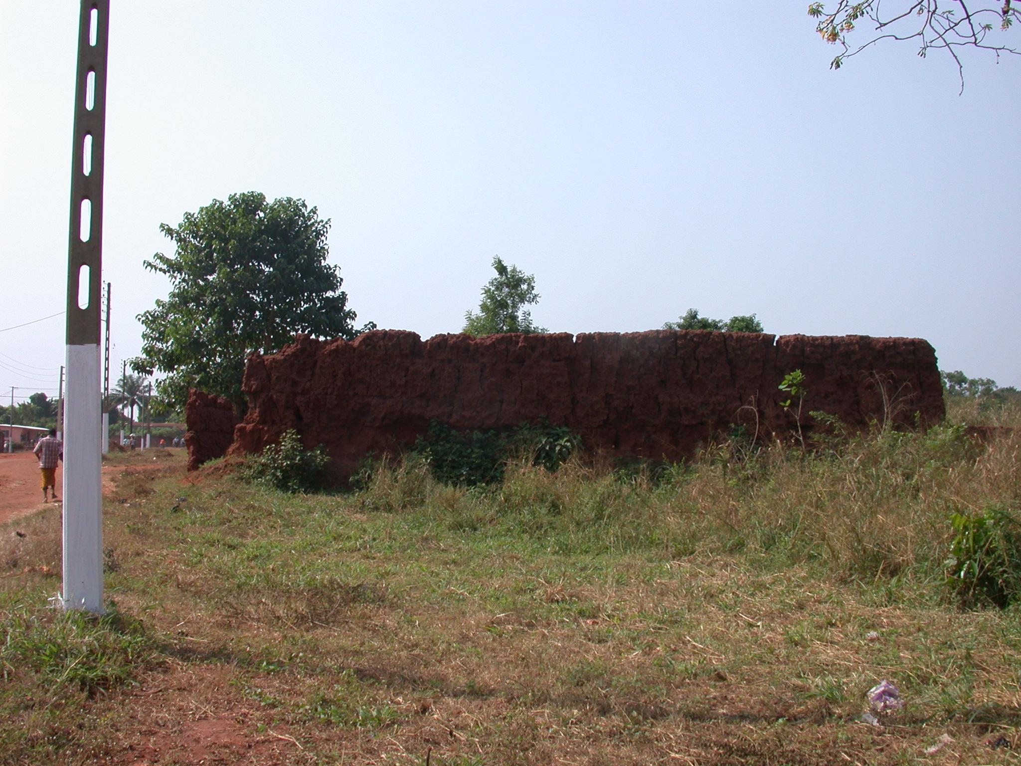 Ruins of Palace of King Tegbessou, Abomey, Benin