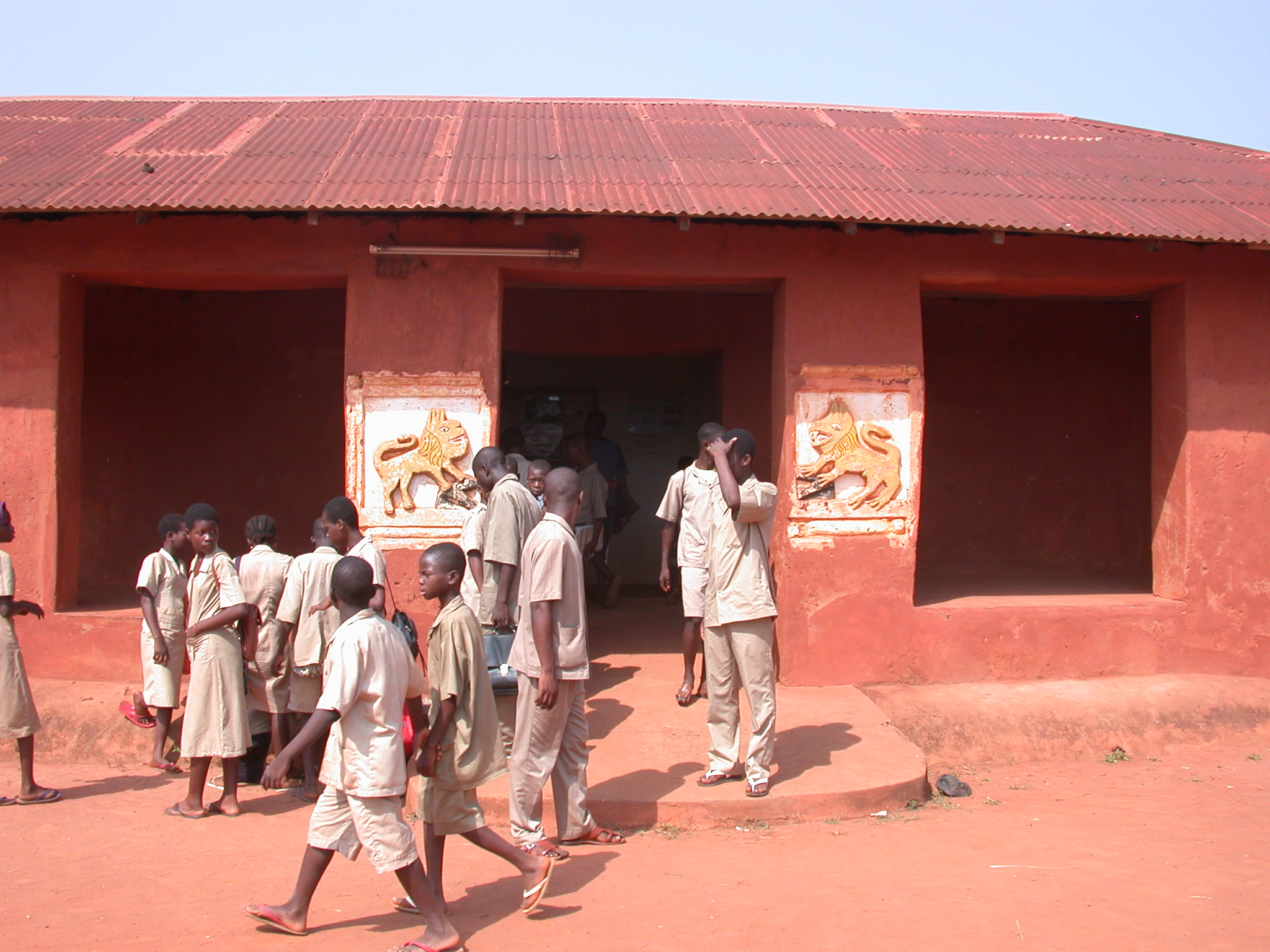 Entrance to Museum Complex, Abomey History Museum, Abomey, Benin
