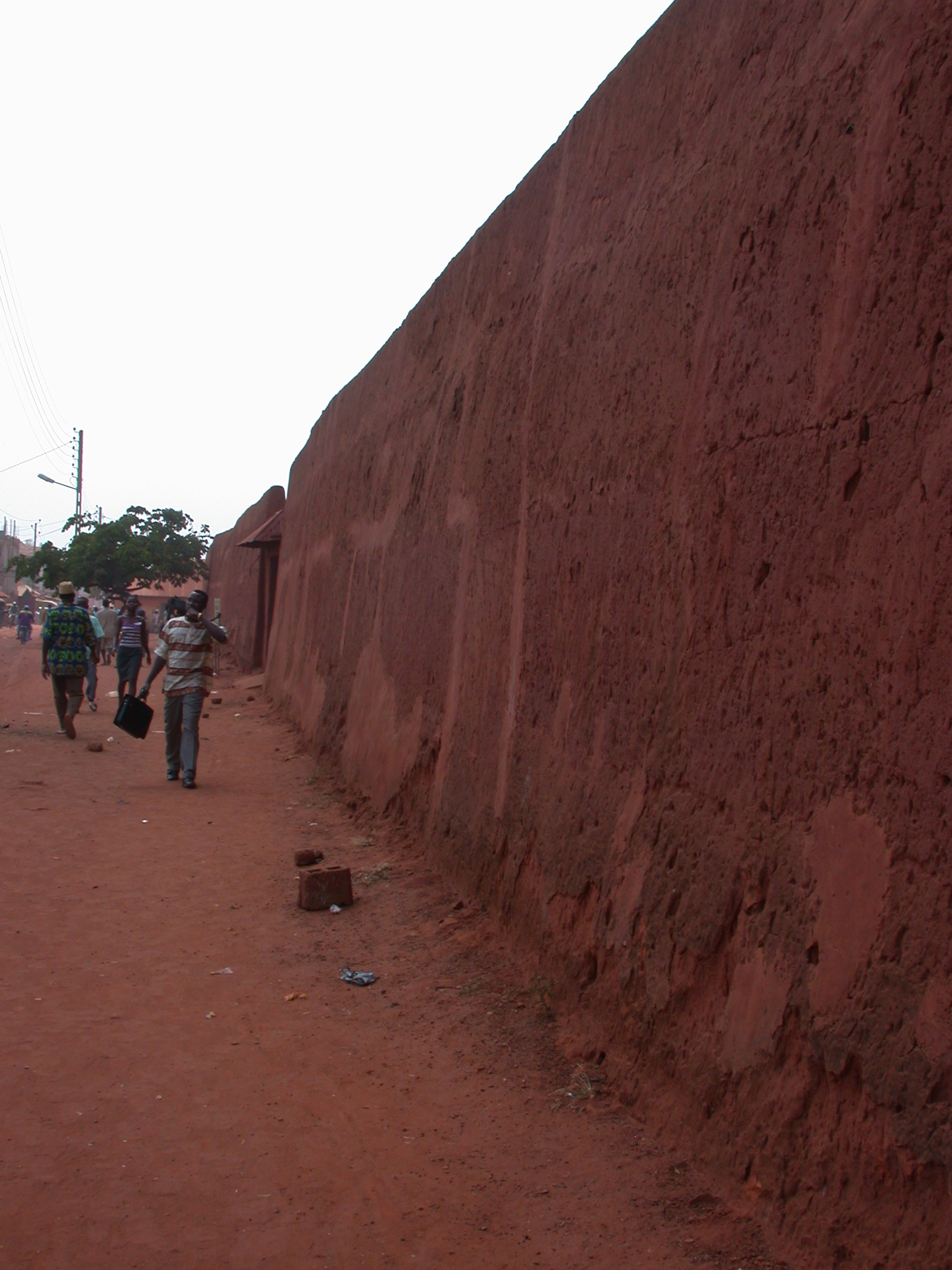 Long Wall of Palace of King Gbehanzin, Abomey, Benin