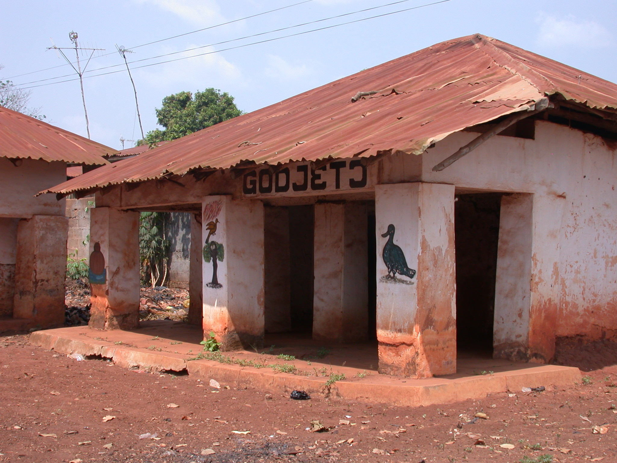 Probably Zewa Guezo Temple, Abomey, Benin