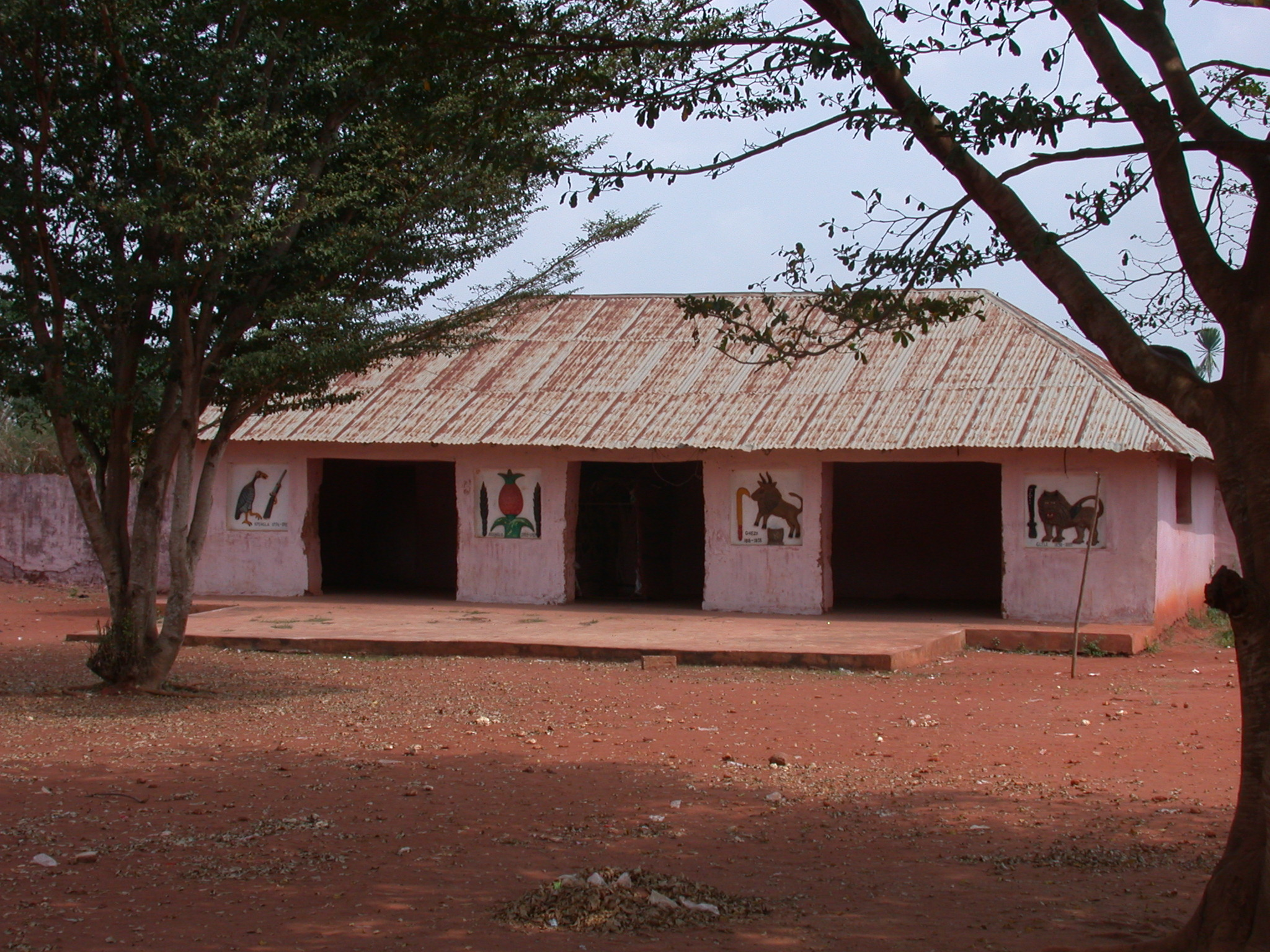 Building in Courtyard, Palace of Crown Prince Agonglo, Abomey, Benin