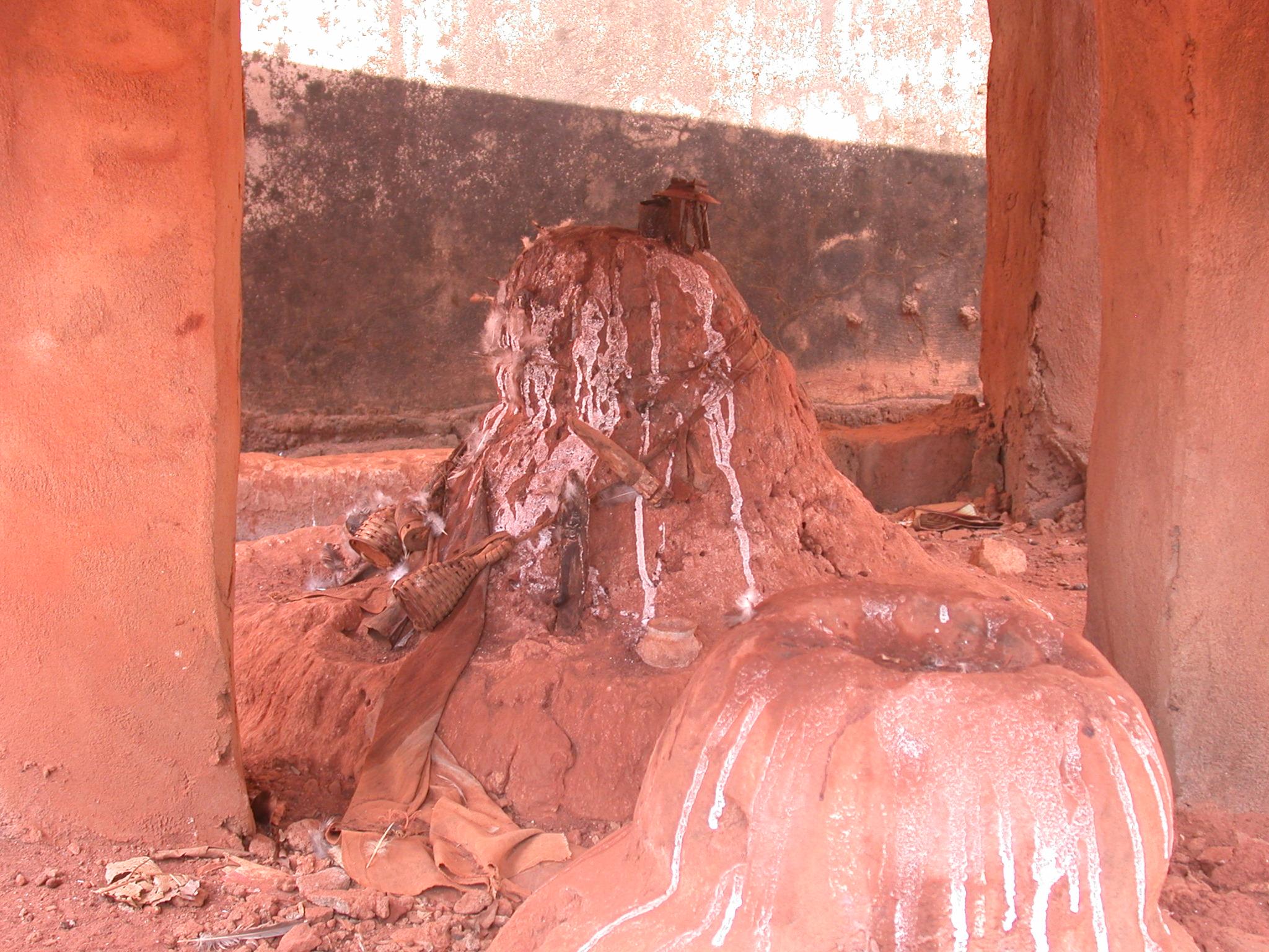 Mound Altar, Probably Esu Deity, Houemou Agonglo Temple, Abomey, Benin