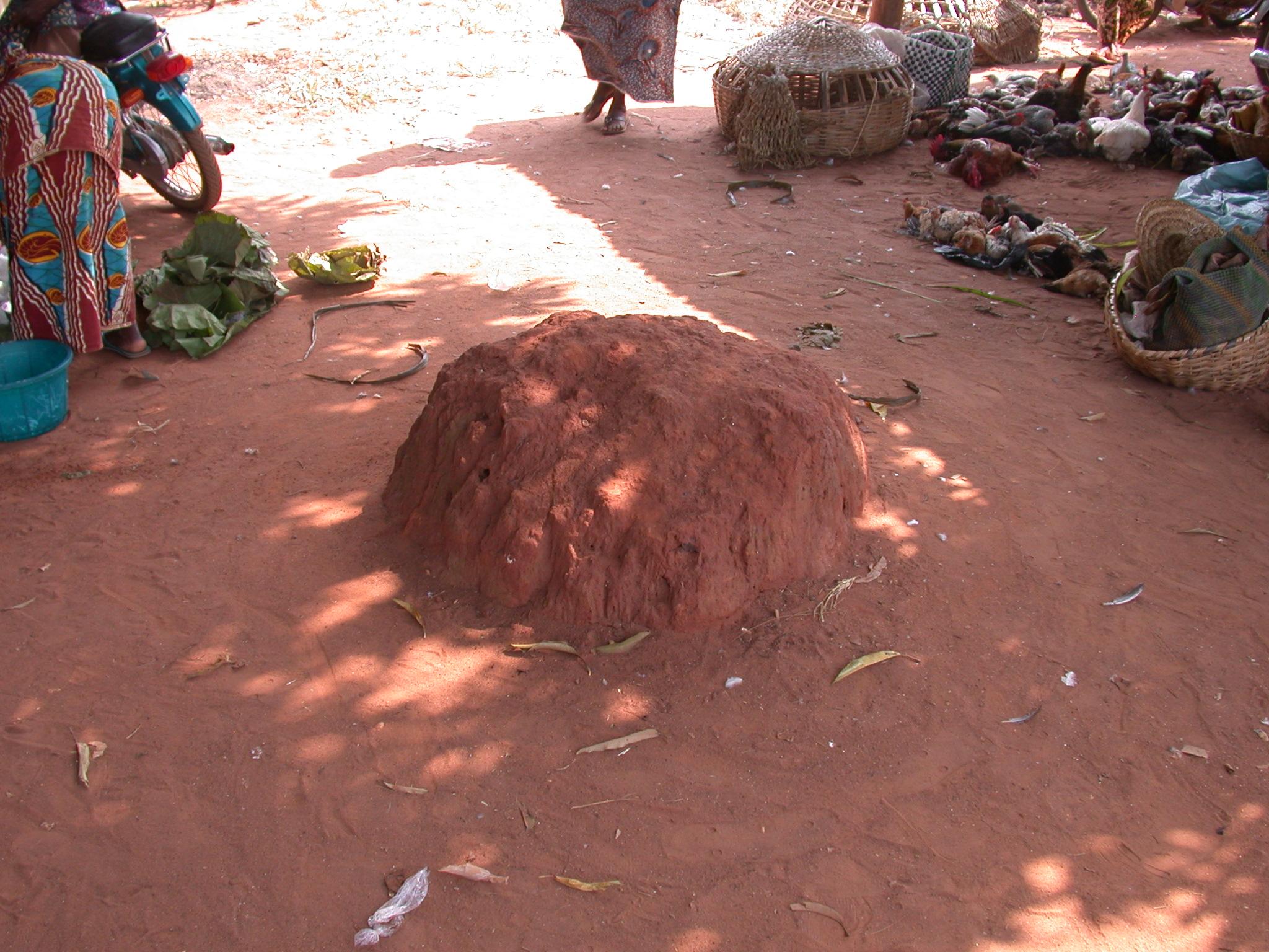 Mound Fetish, Gbedagba Market, Abomey, Benin