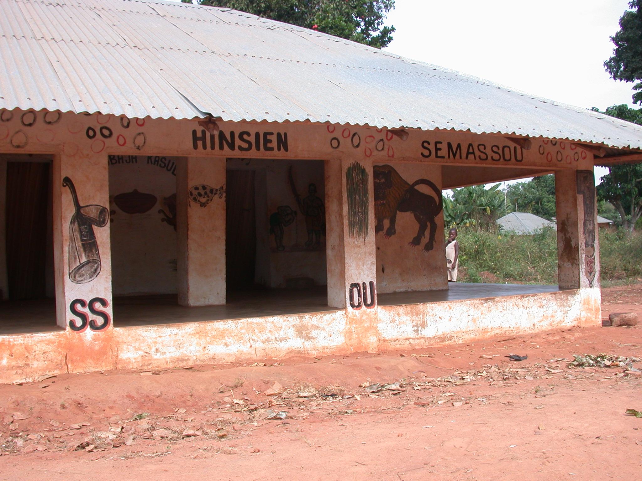 Semassou Glele Temple, Abomey, Benin