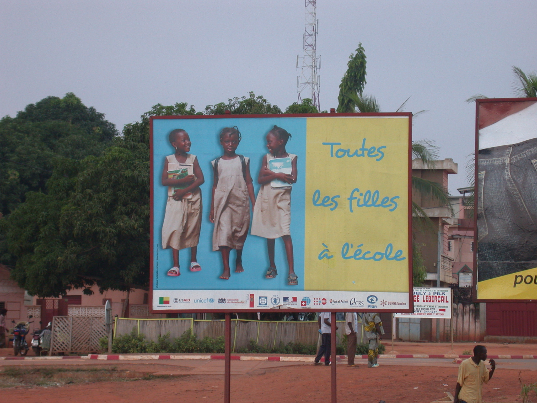 All the Girls to School Billboard, Benin