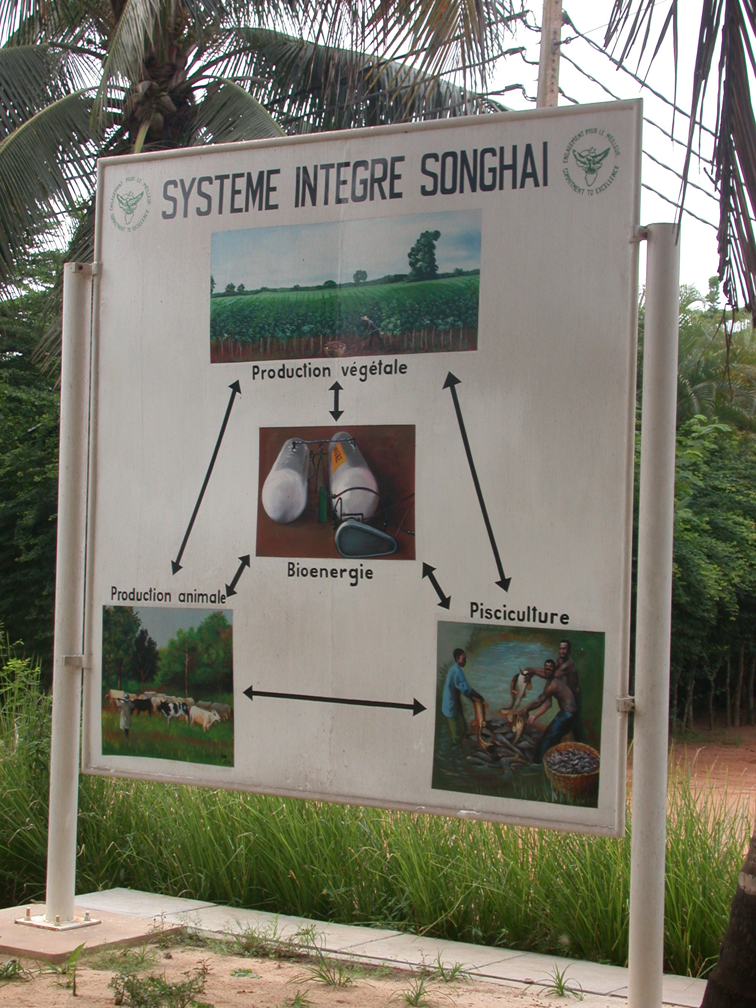 Songhai Integral System Sign, Centre Songhaï, Porto Novo, Benin